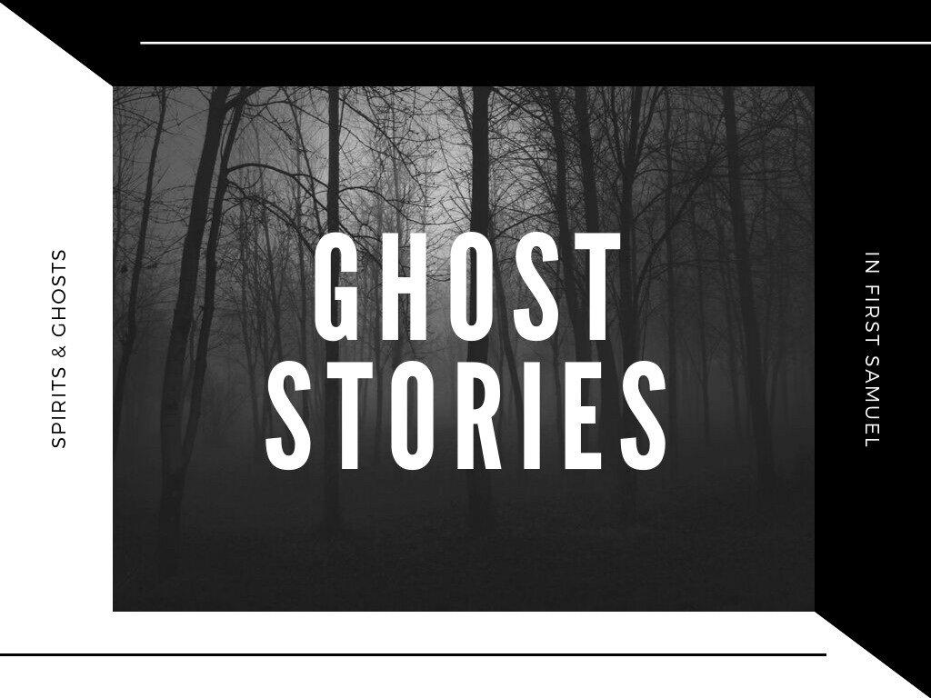 Ghost Stories: Week 1