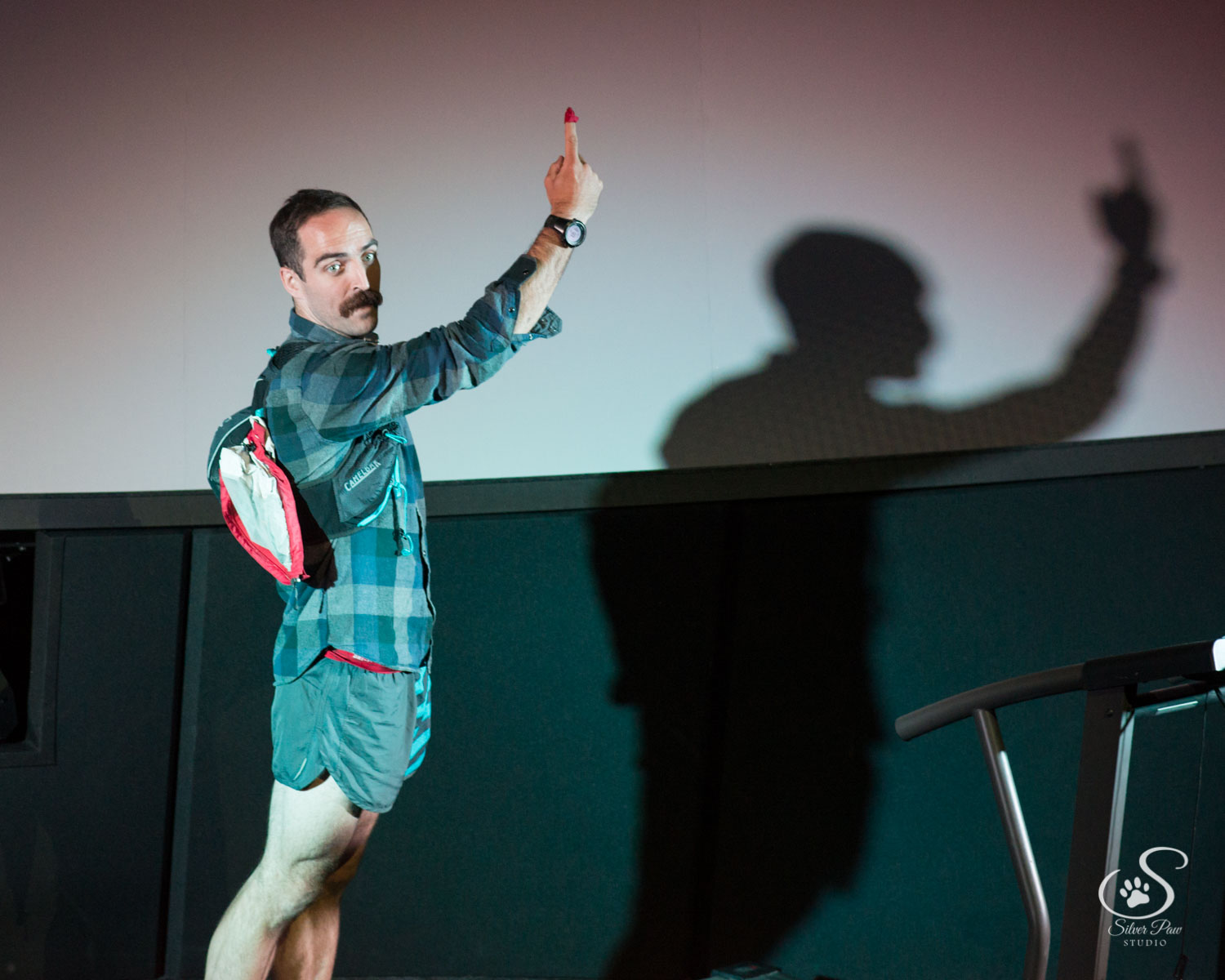 Originally conceived as a graduate thesis project at Arizona State University, Move enjoyed runaway success in a three week engagement at ASU before touring to the 2017 Fort Collins Fringe Festival.  Move's  themes of alpinism, fitness and battling addiction struck a chord with Rocky Mountain audiences – it was nominated for Best of the Fest 2017 and won that year's Artists' Choice Award.