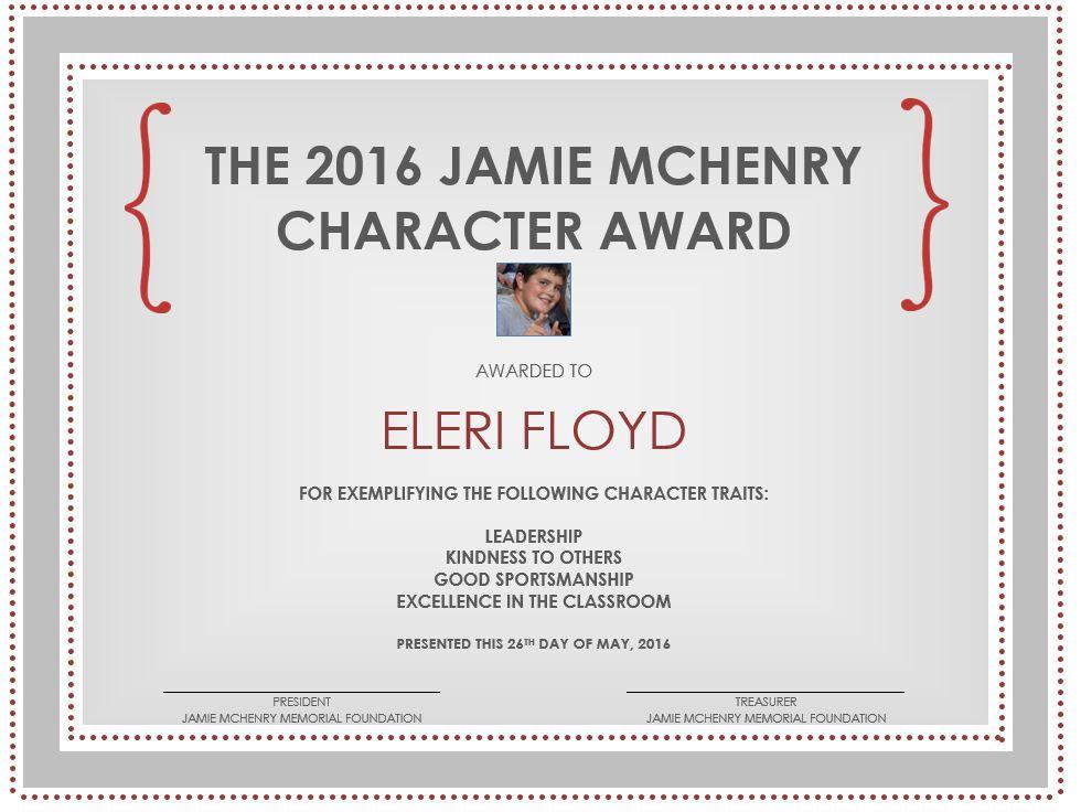 eleri floyd award pic.JPG