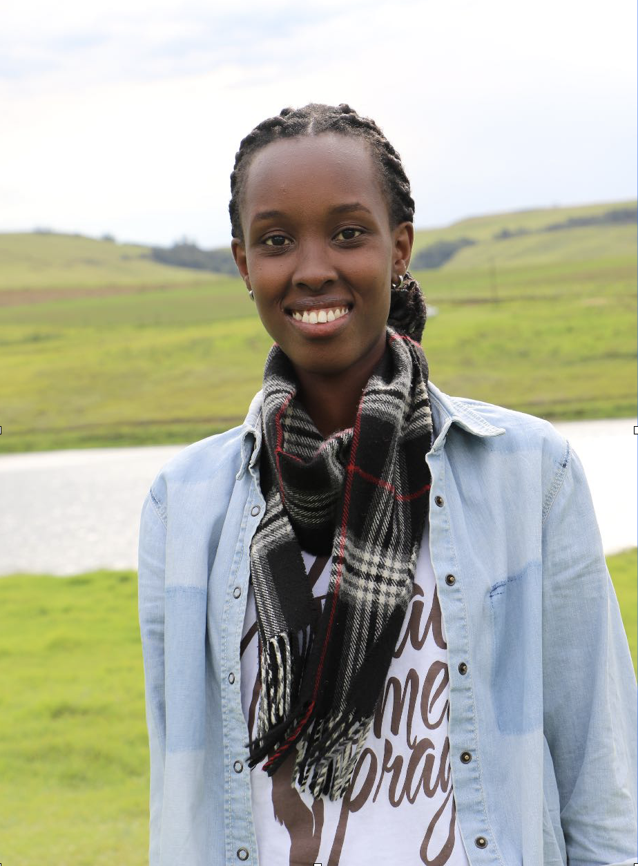 """Christa-Bella Mugisha, 23-Burundi - Vision: To create a Global Youth Peace Summit in Burundi""""In my country, 75% of the population is under the age of 25. My vision is to rebuild my nation with a resilient community filled with hope, working in unity and desiring to improve their social life in terms of health, economy and education.My vision for humanity especially Africans is being able to reach a good number of people who are educated and working towards the same goals by making sure they see and understand things the same way.""""Bella is working with the Youth Ministry of Burundi to actualize her vision of a Global Youth Peace Summit in her country.Bella was a youth delegate at the Kenya and South Africa Global Youth Peace Summit."""