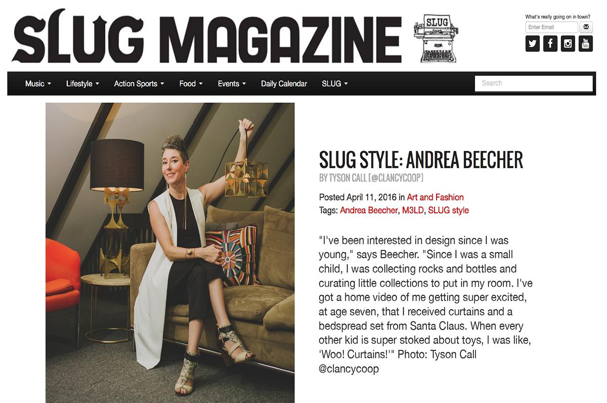 Slug Magazine - April 11, 2016