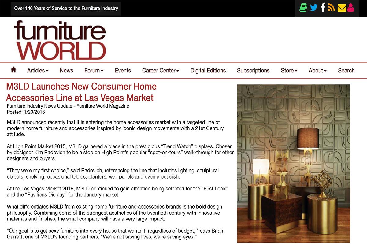 Furniture World - January 20, 2016