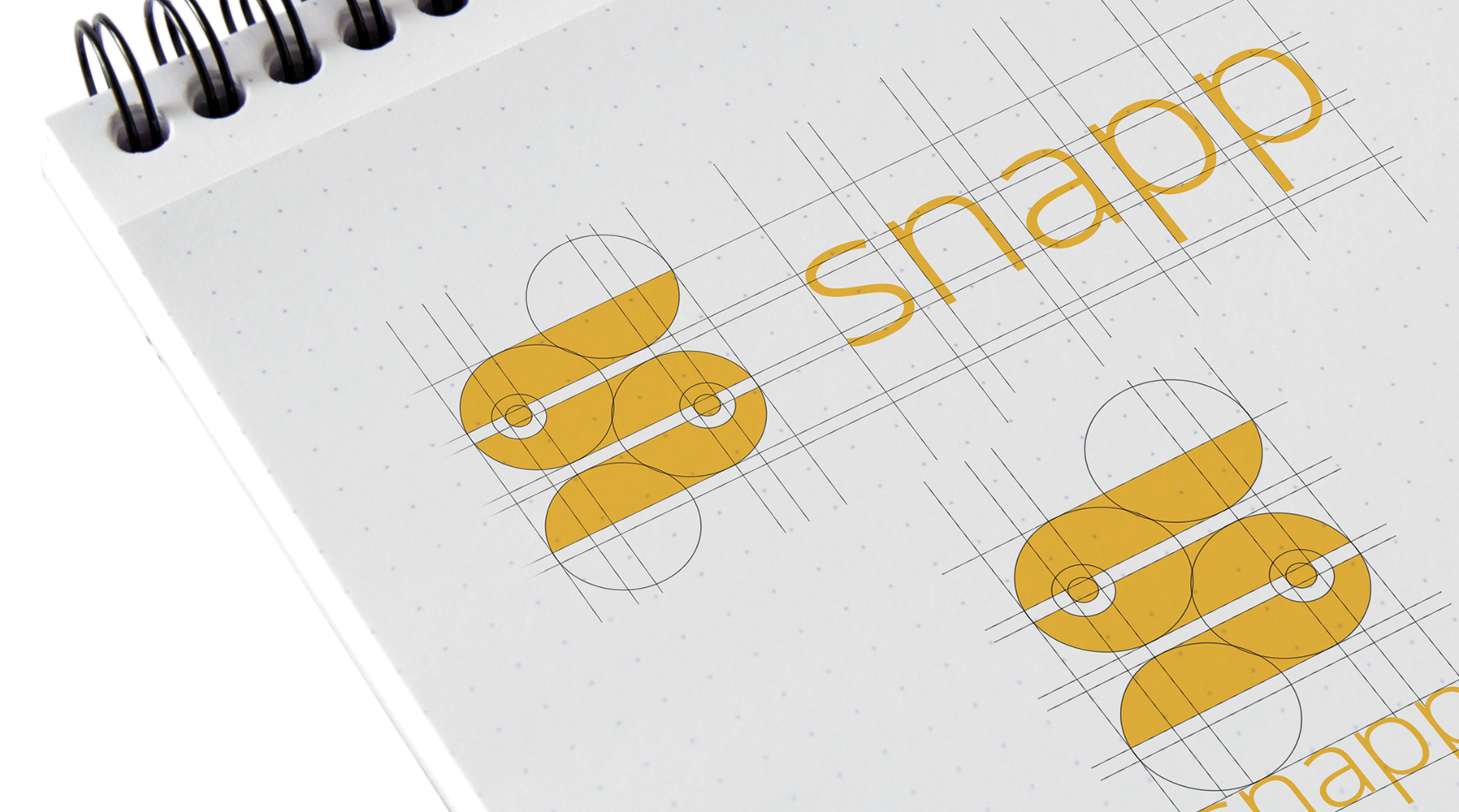 Logo - The new Snapp logo is inspired by the concept of the building blocks that you need to compose in order to define the behaviour of the app.