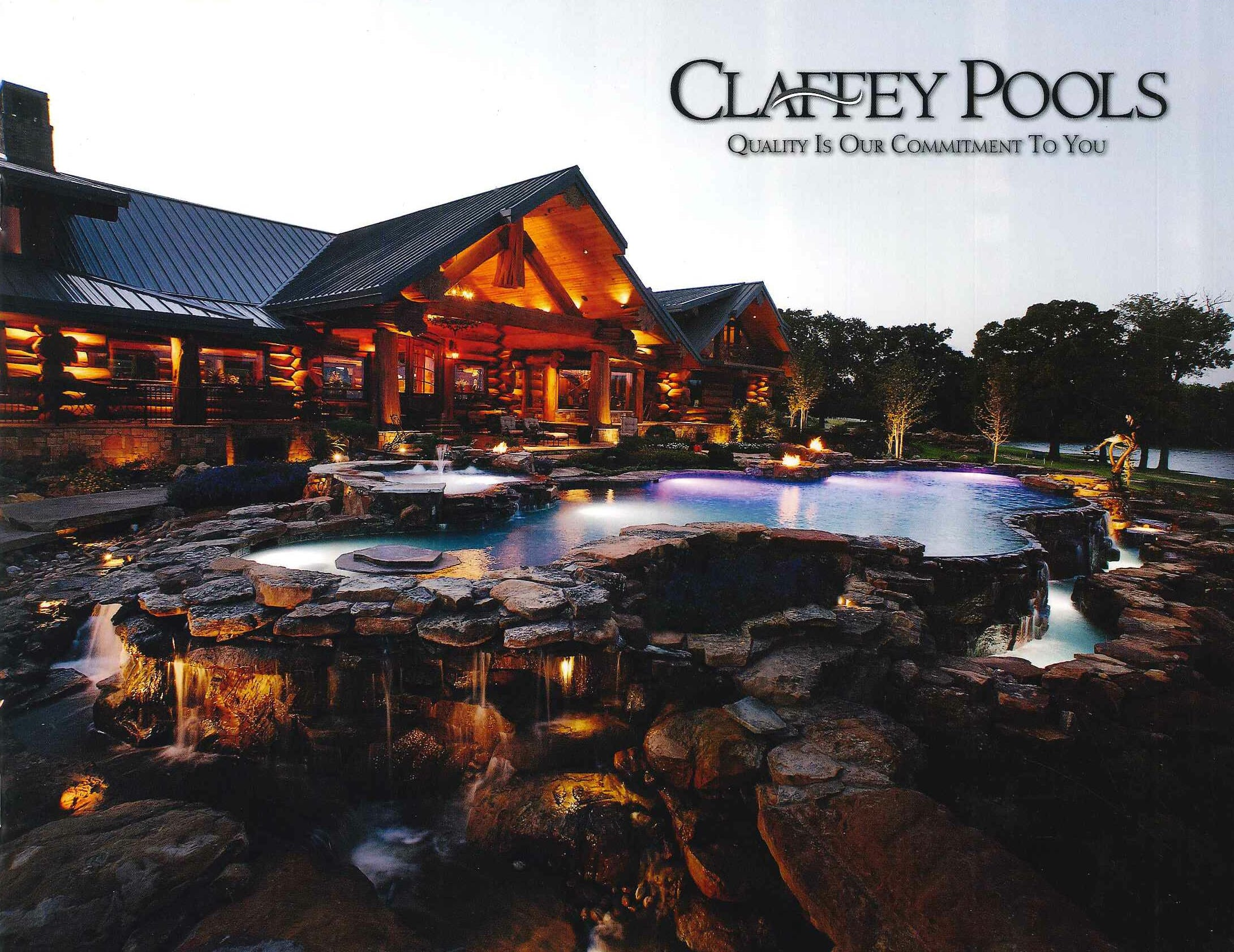 2008 - Developed a proprietary computer-based pricing model that guarantees accuracy and timely pricing (within just 10 minutes).Claffey Pools constructed their 5,000th pool.Paul constructed pool #5128, which was the second pool for his first customers, The Daniels Family.