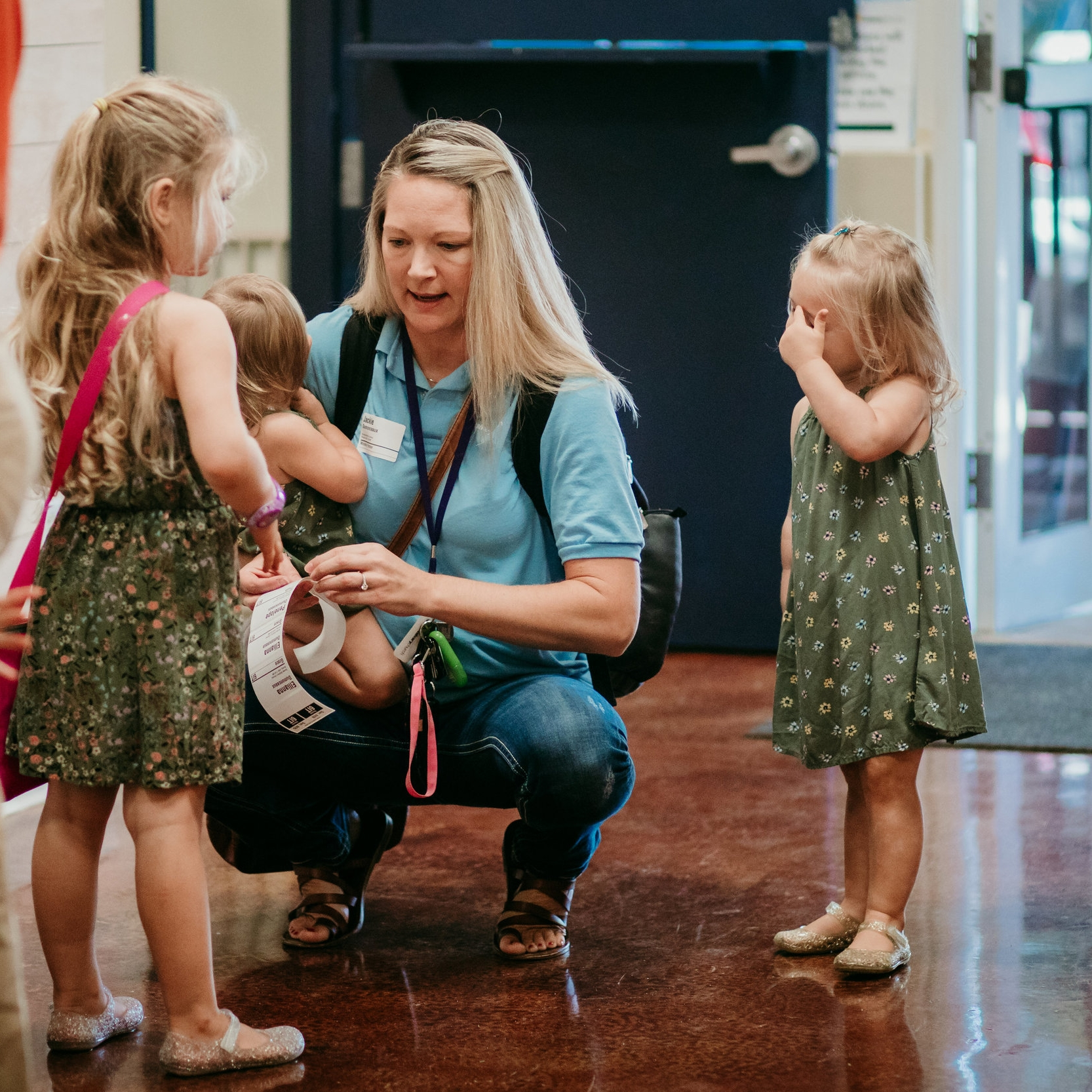 We Love Families! - We offer so many great ways for your family to connect at Calvary! From Preschool & Elementary to Student Ministries, we have something to offer them! If you have no kids, no problem! We also offer fun and engaging groups for singles and married couples.