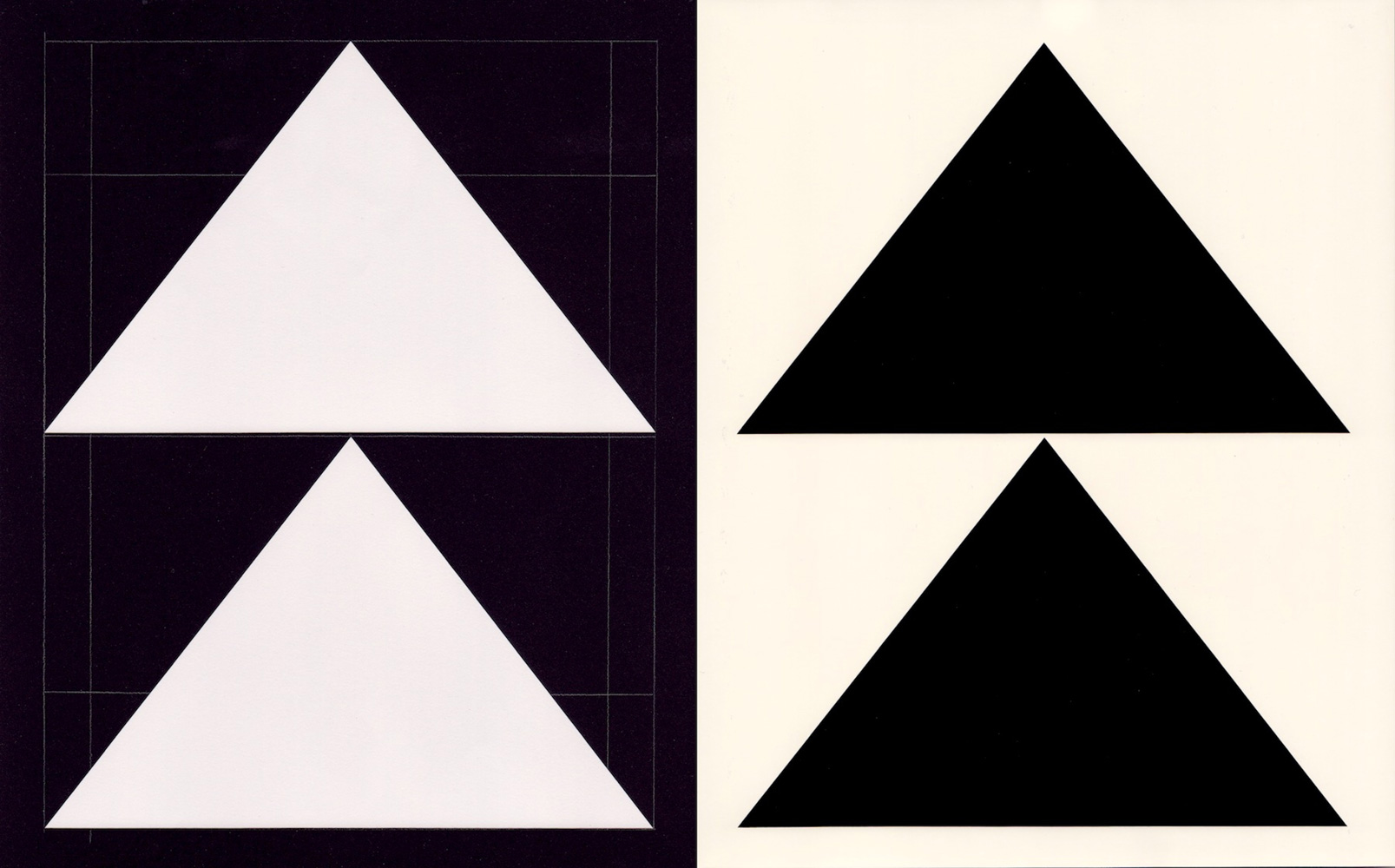 Richard Caldicott  'Untitled #7' 2014  Photogram and black paper negative  25 x 41 cm