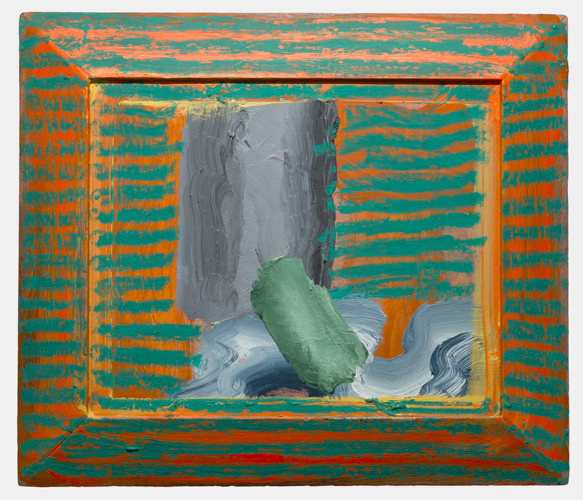 Howard Hodgkin  Blue Movie , 1986–87 Oil on board 46cm x 54cm