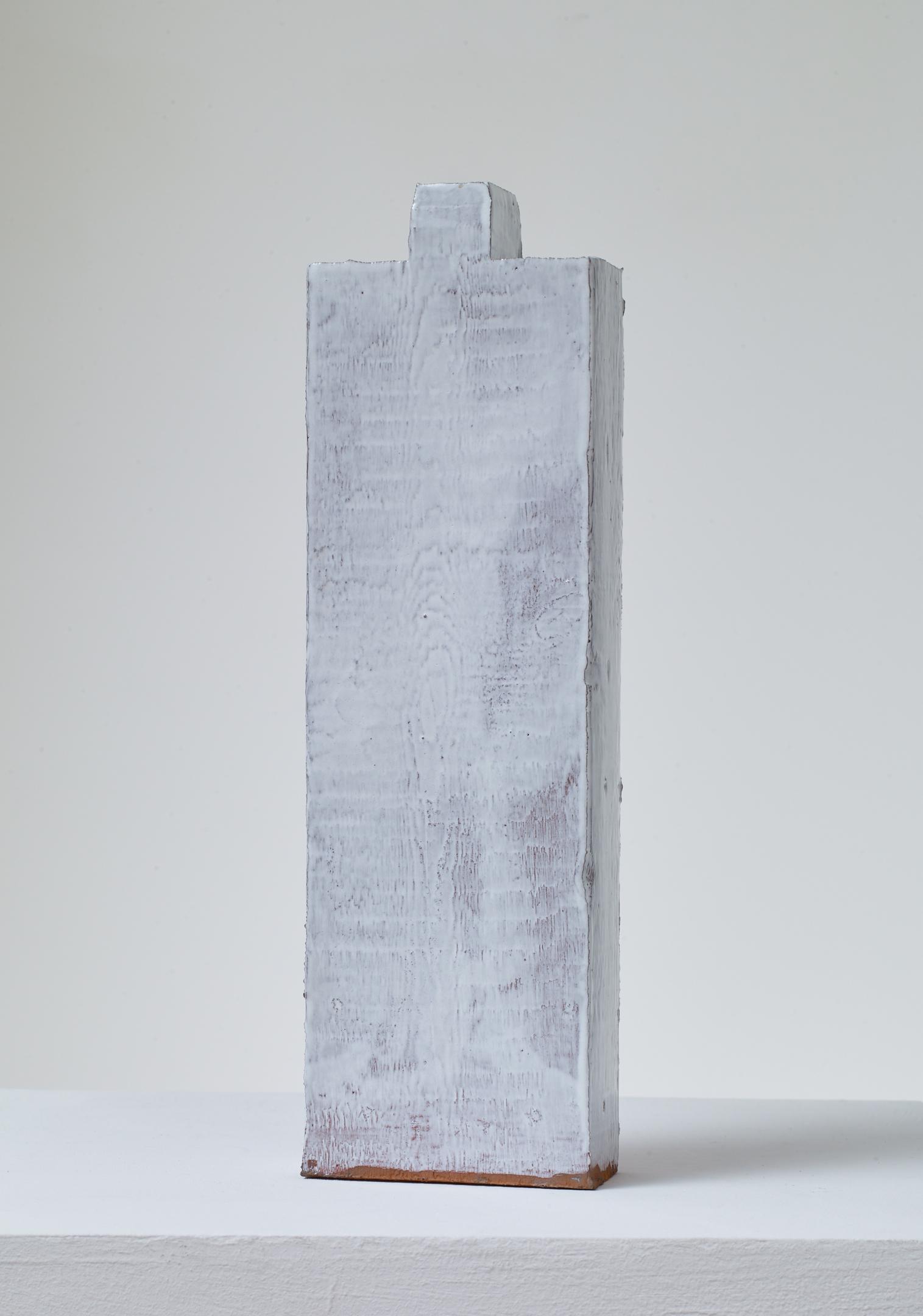 Jodie Carey  Untitled,  2019 Glazed ceramic 5 x 5 x 23 cm