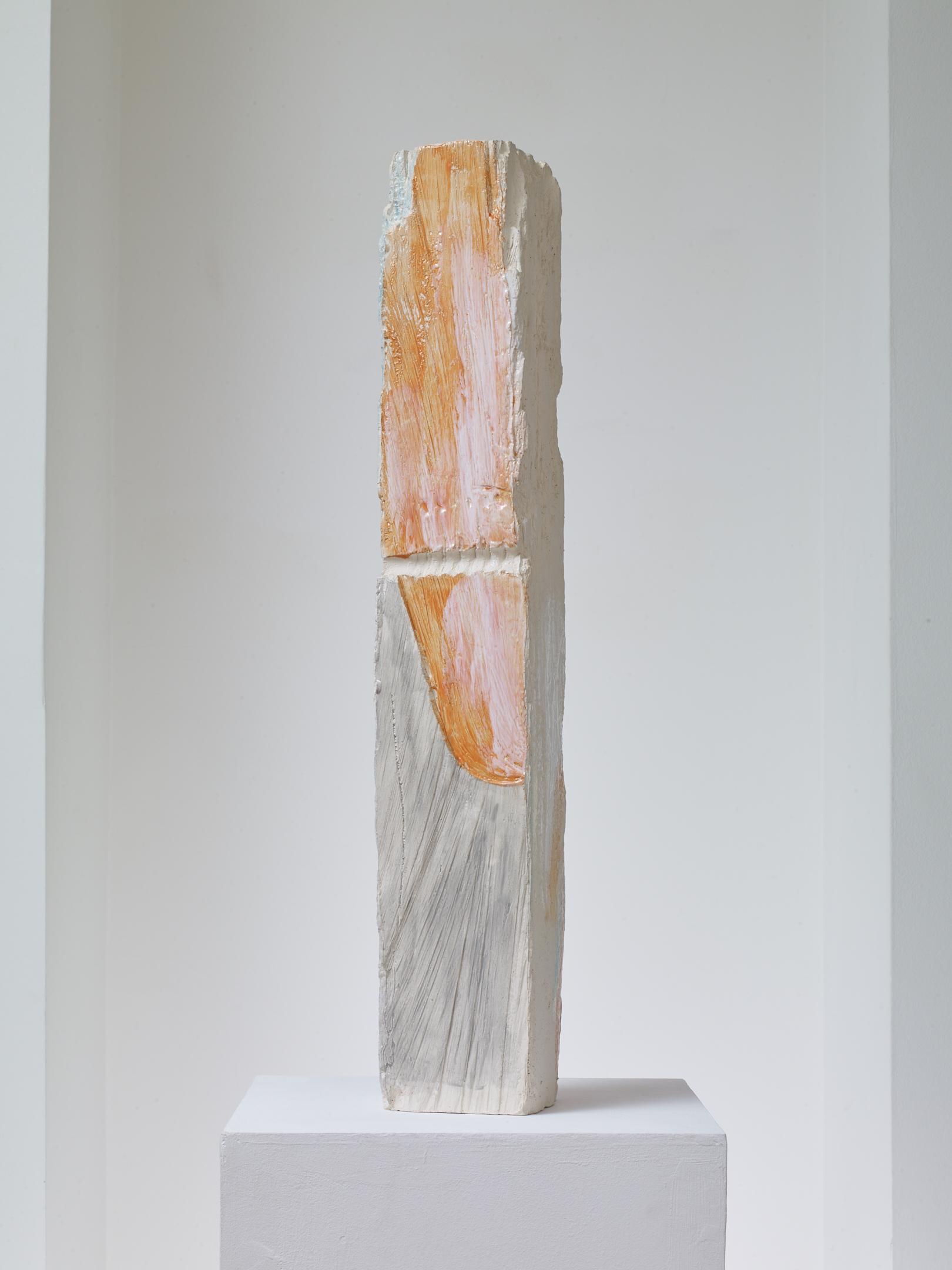 Jodie Carey  Untitled,  2019 Glazed ceramic 11 x 12 x 74 cm