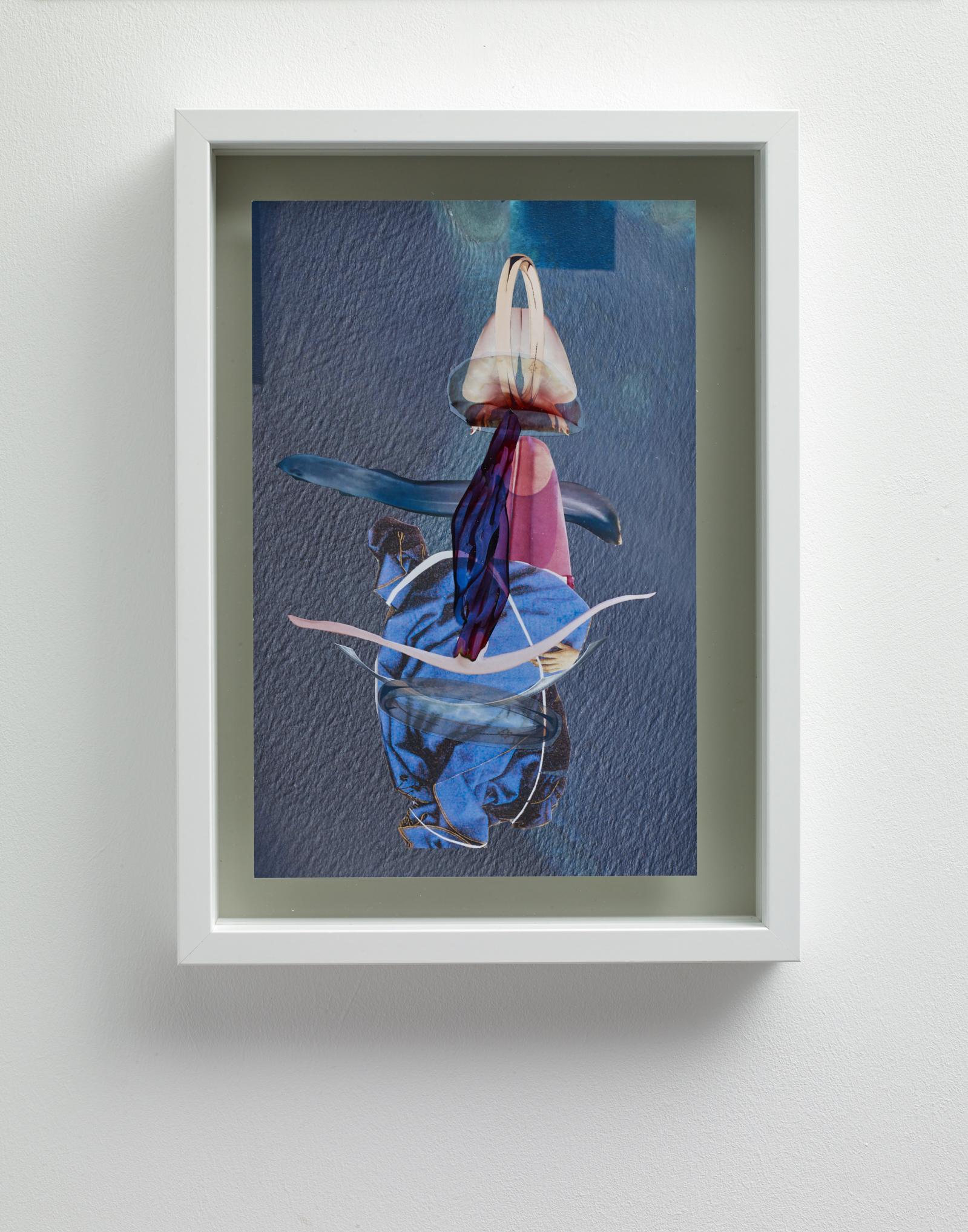 Miriam Austin  We were never under the same water,  2019 Mixed media collage 29.7 x 21 cm