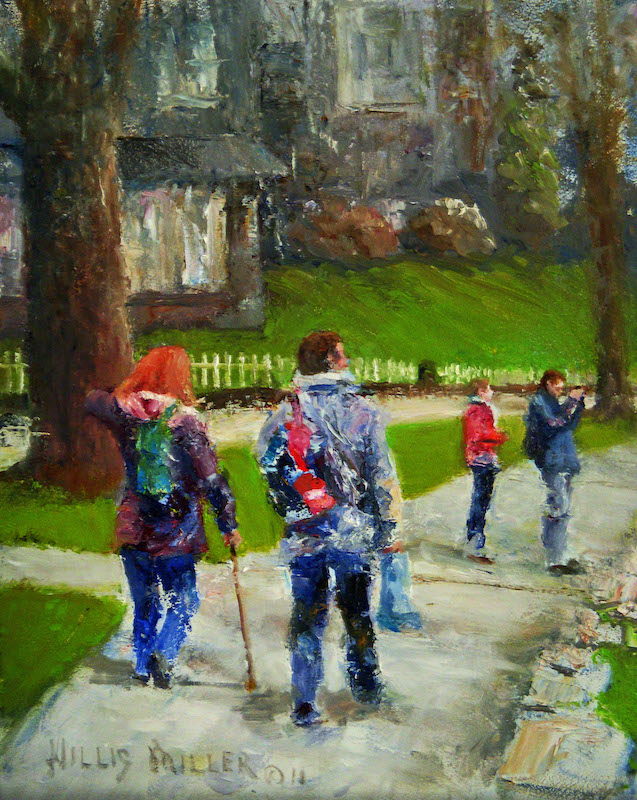 "A Time For Everything, 14"" x 11"".  This image was seen in the Lake District of England."
