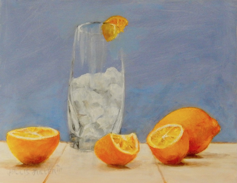 "Have Lemons?, 11"" x 14"", oil, $410 unframed plus applicable taxes and shipping"