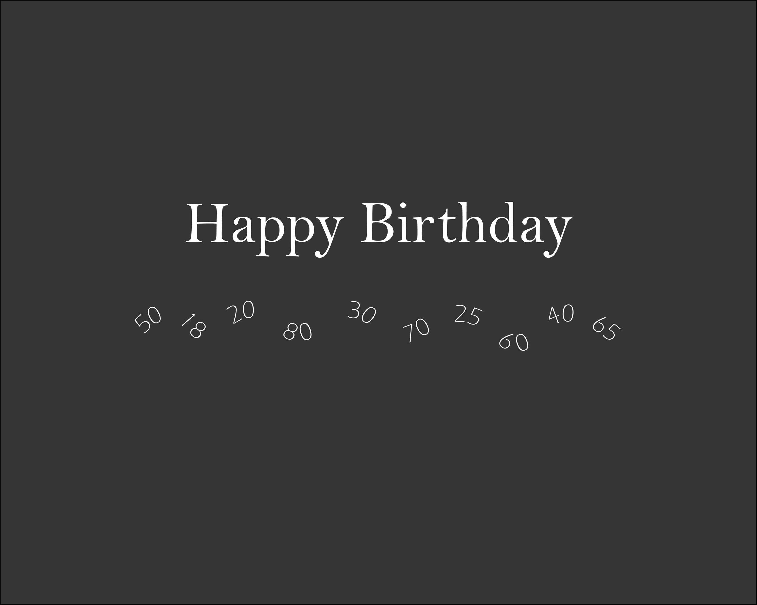 Geburtstagsfotografie