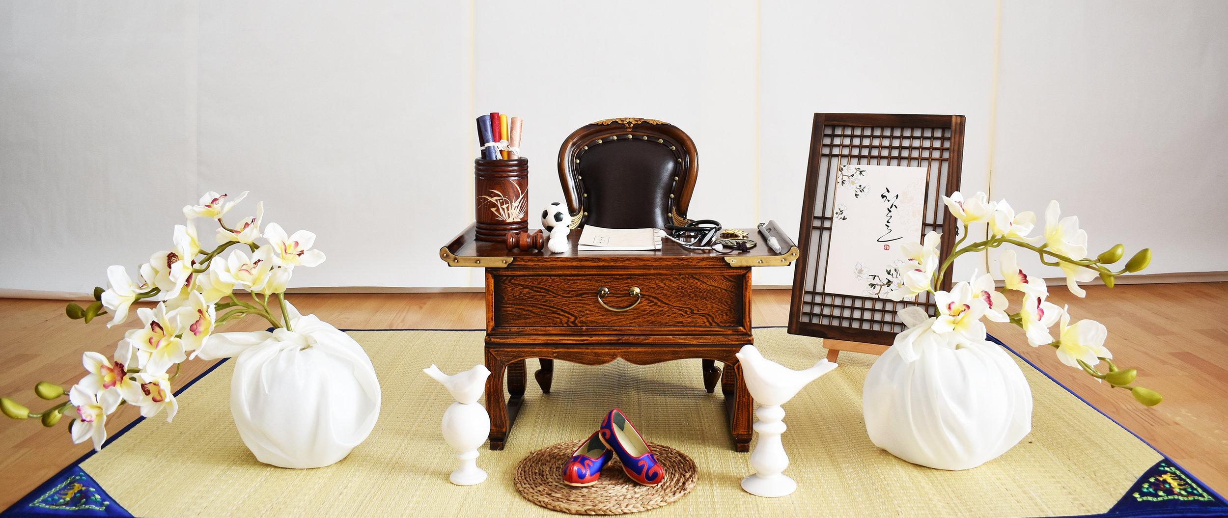 의자 돌잡이 (Traditional Chair Doljabi) -