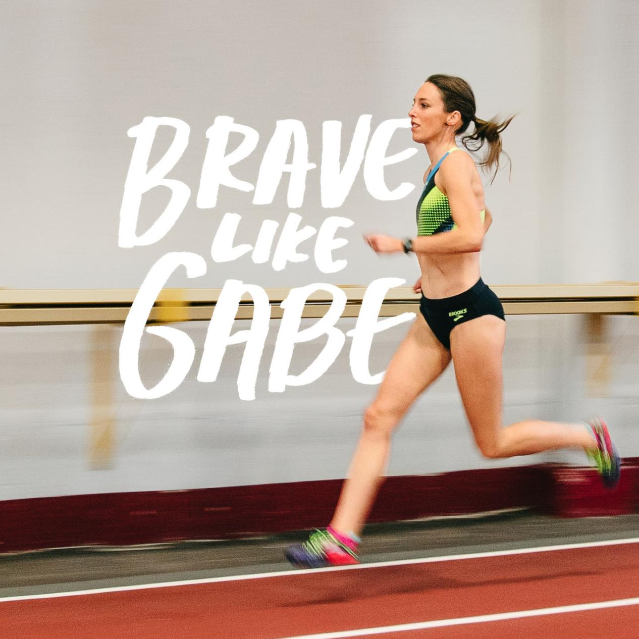 Pro runner. Cancer patient. Relentless optimist. - Brooks Running
