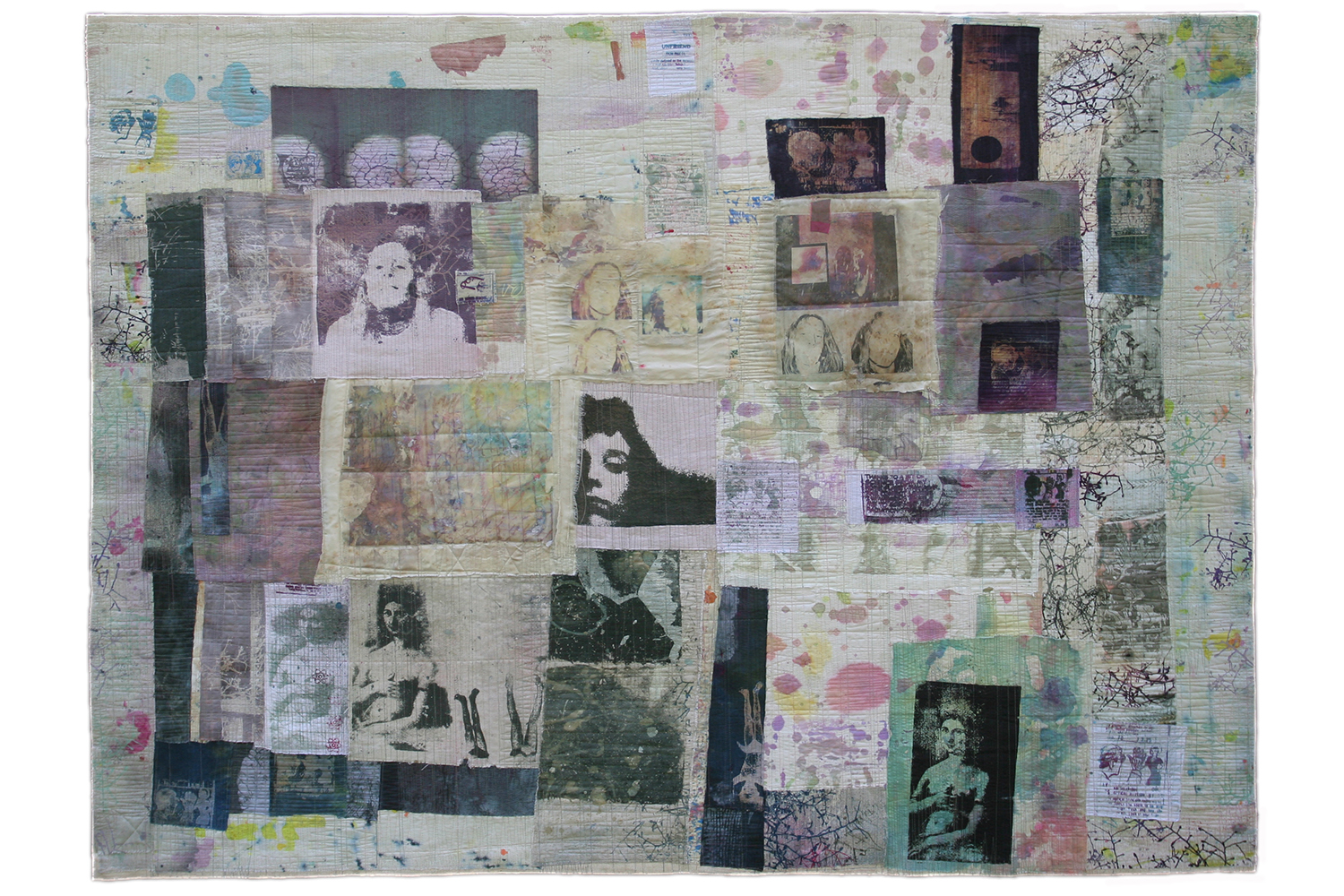 WHAT SHE SAW 44 × 59