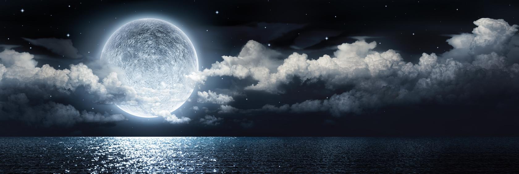 Watery Full Moon