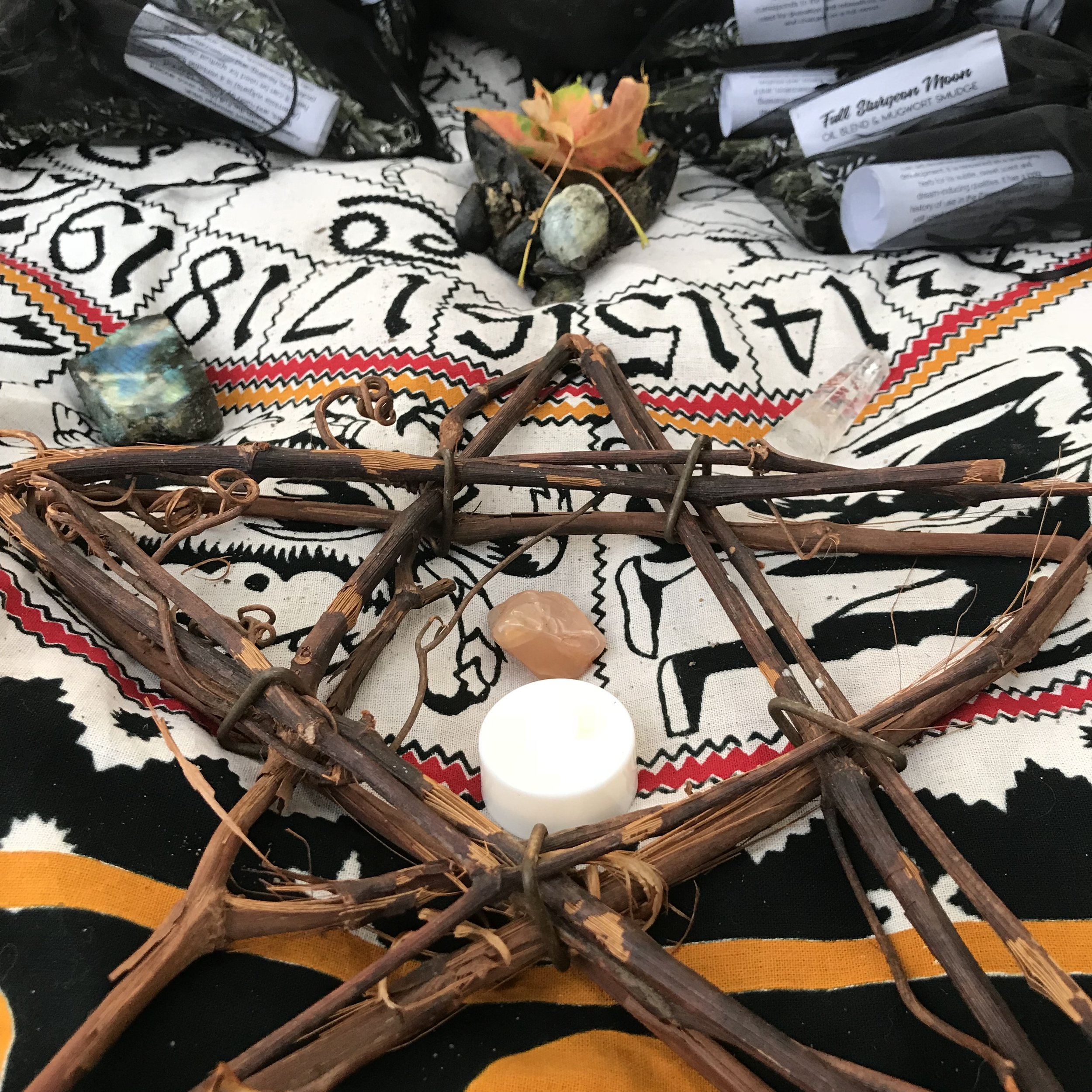 Full Moon Altar Pieces