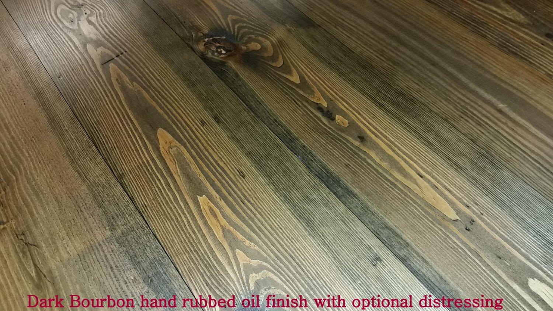 Dark Bourbon Vintage Pine Flooring