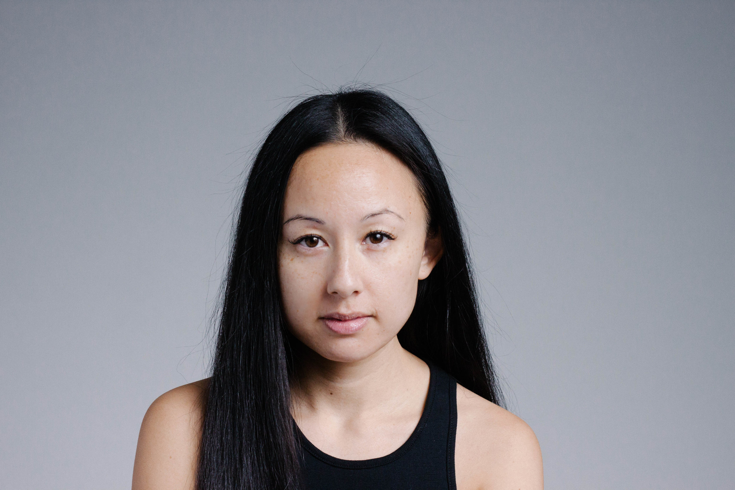 When I'm in a crowd of white people, I feel asian. Even though I'm half, I feel a little more isolated. - -Natasha