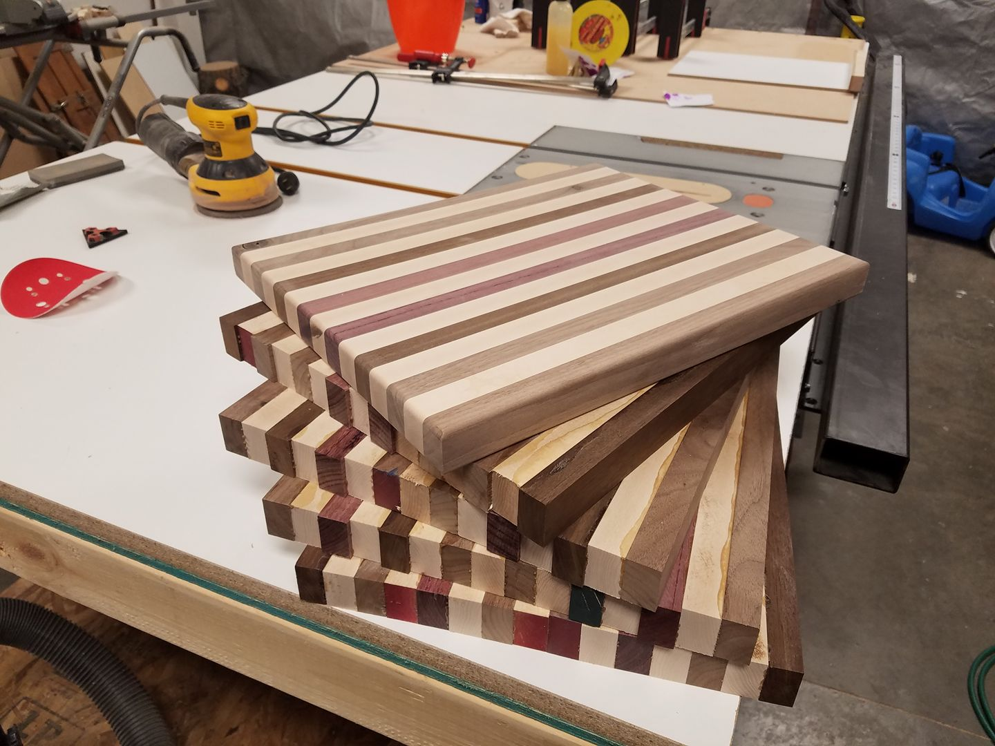 Close with me and receive a beautiful butcher block cutting board, made by hand, by me!