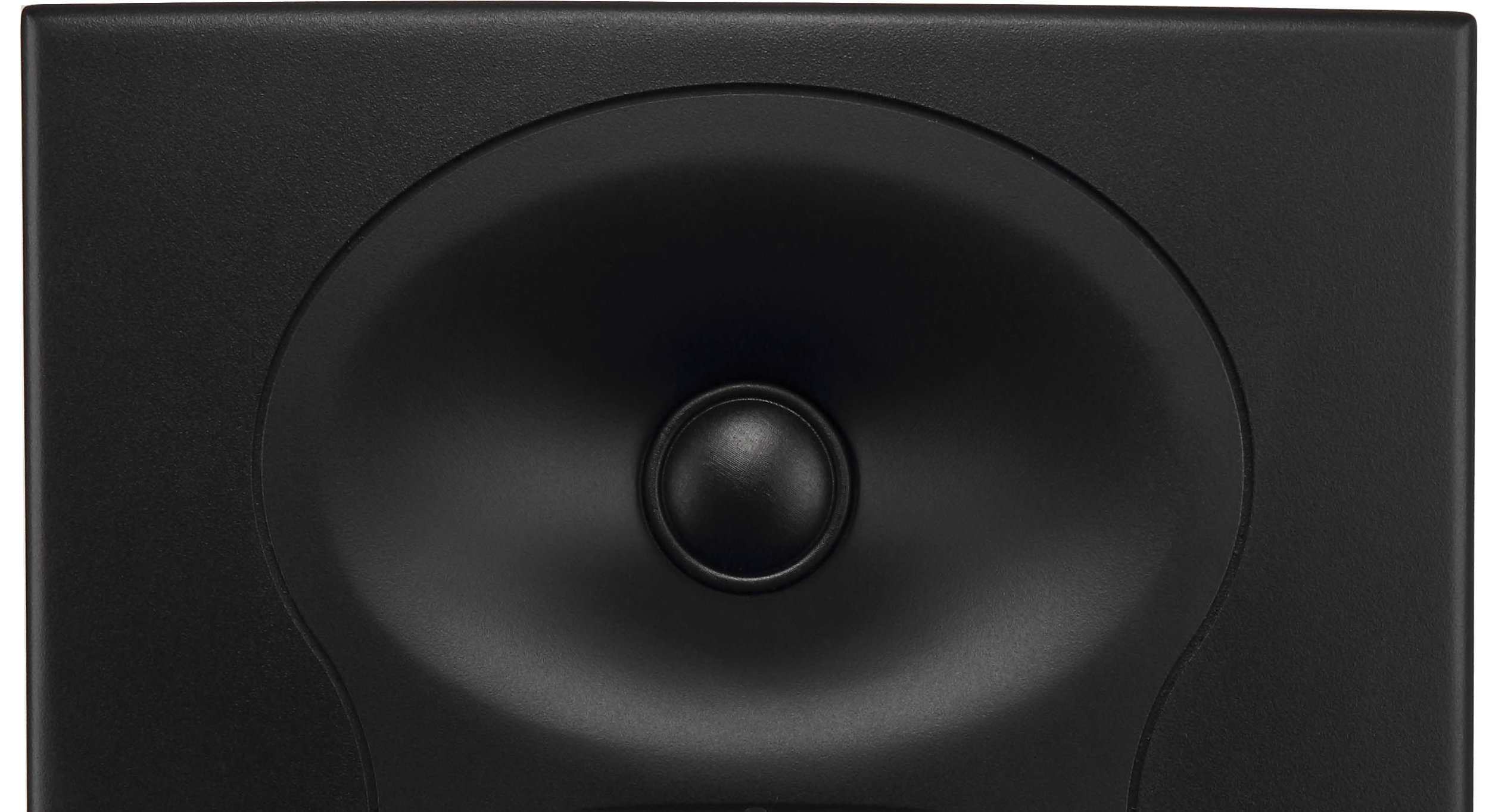 3-D Imaging Waveguide - The waveguide on Project Lone Pine monitors allows you to hear spatial details and a soundstage that is wider, taller, and deeper than the space between the speakers themselves.Learn More