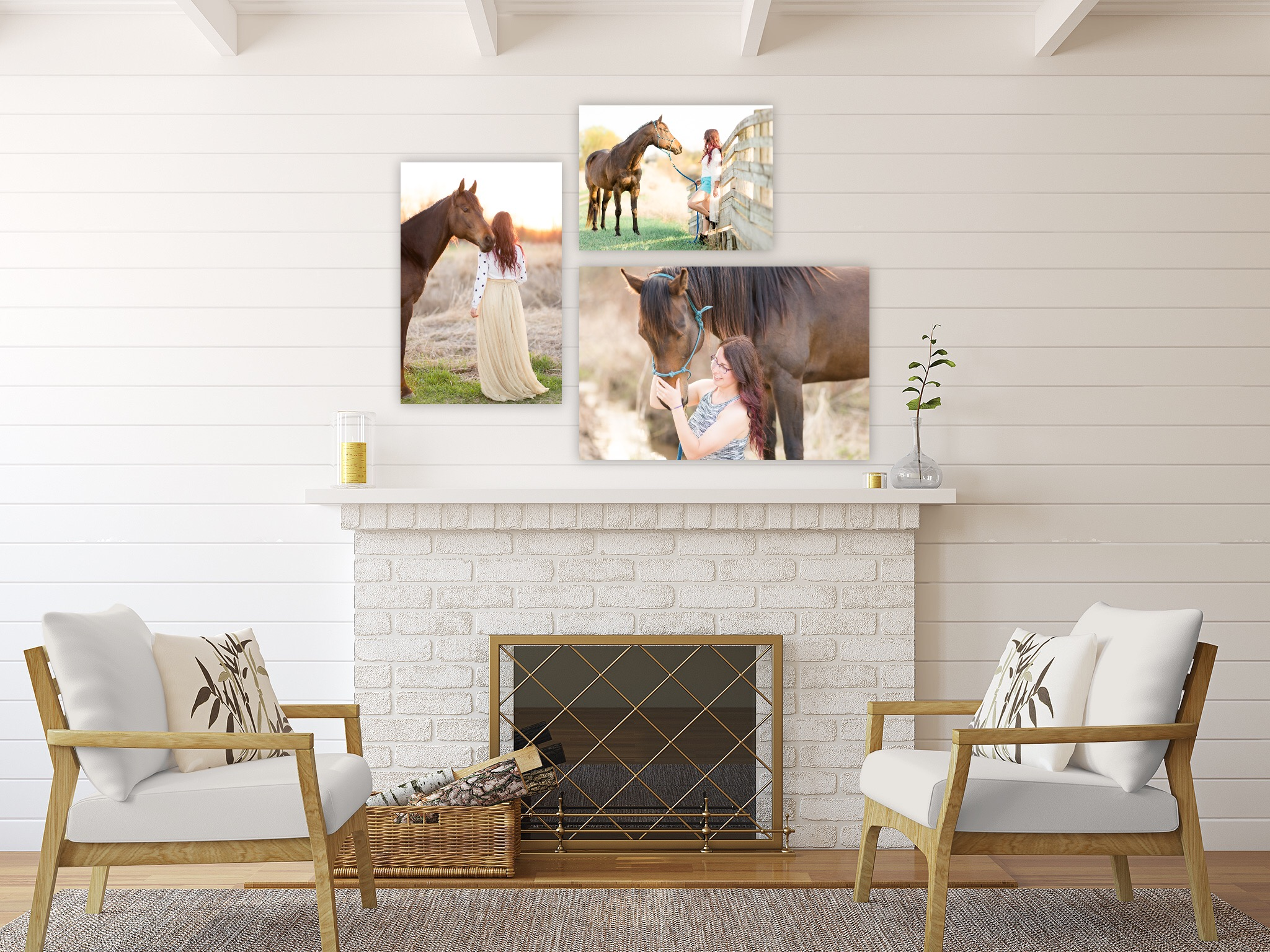 Wall Art Gallery Available in Canvas, Barn Wood & Metal Finishes