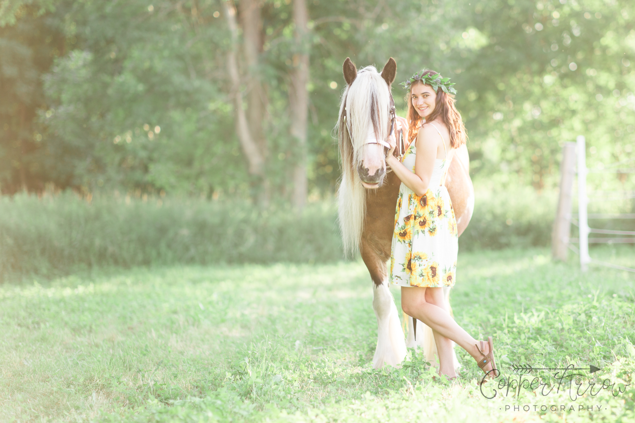 Graduation Pictures with horses WI