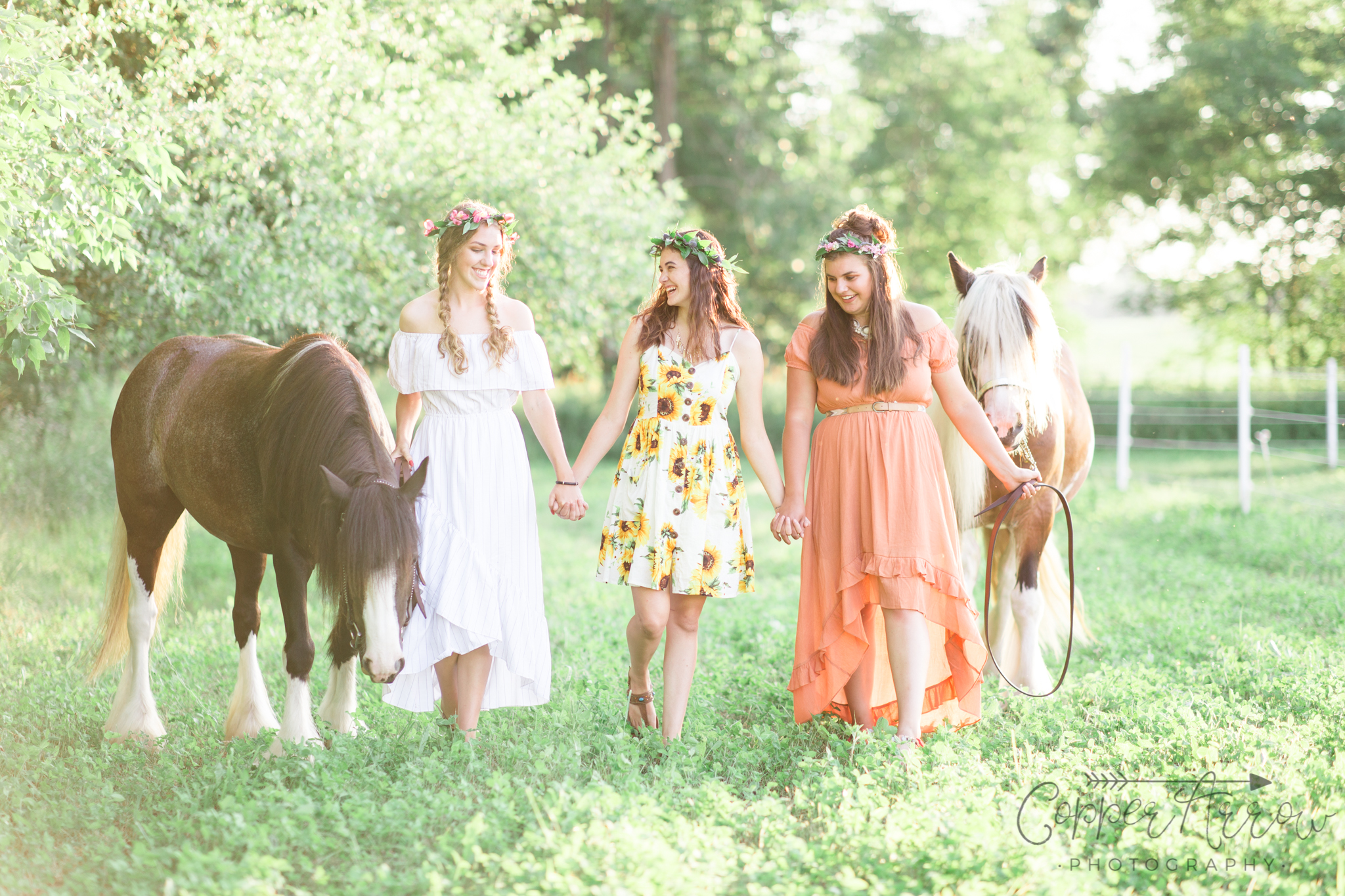 WI senior pictures with horses