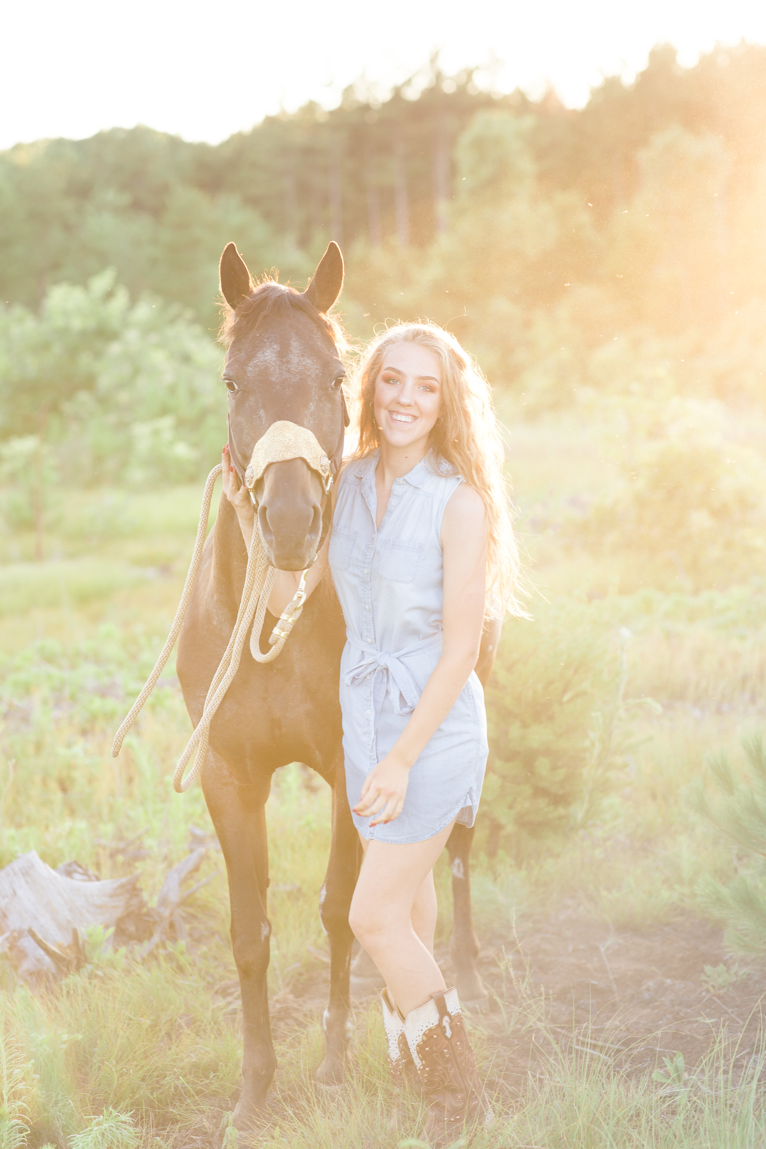 high school senior pictures with horses wisconsin