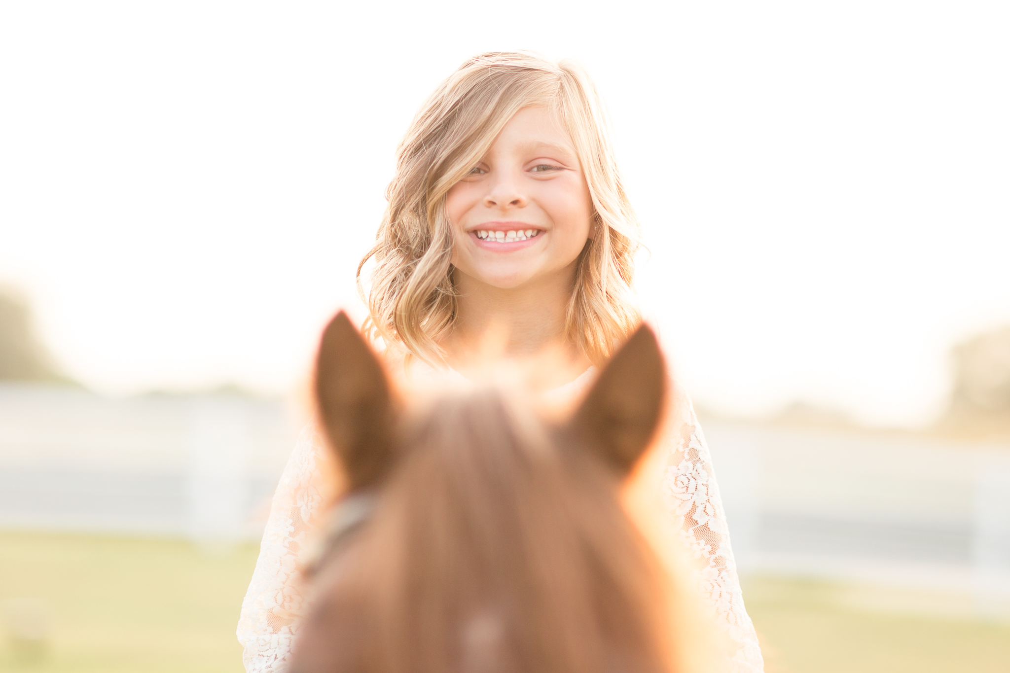 Child and Pony Portraits Wisconsin
