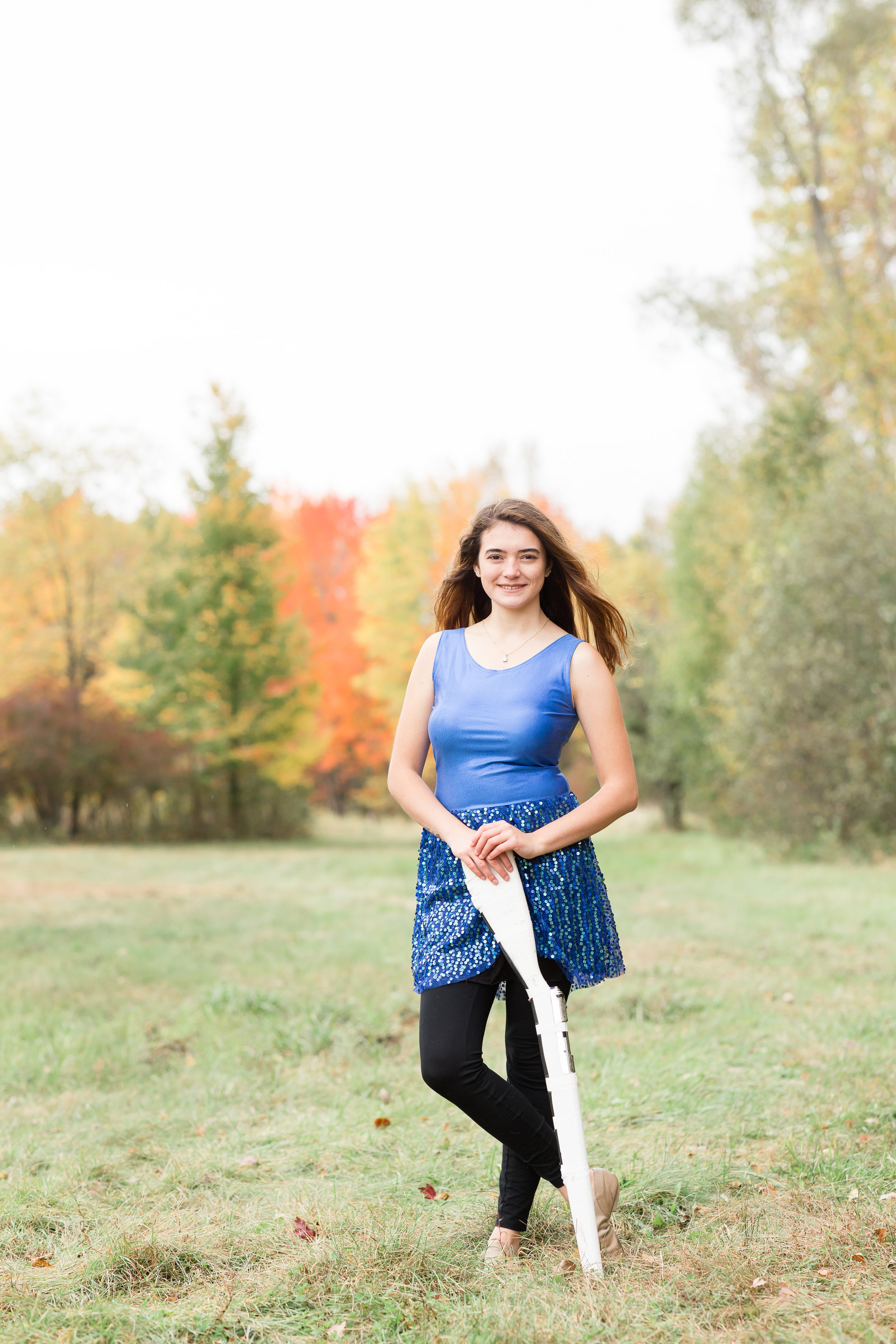 Green Bay Color Guard Senior Pictures