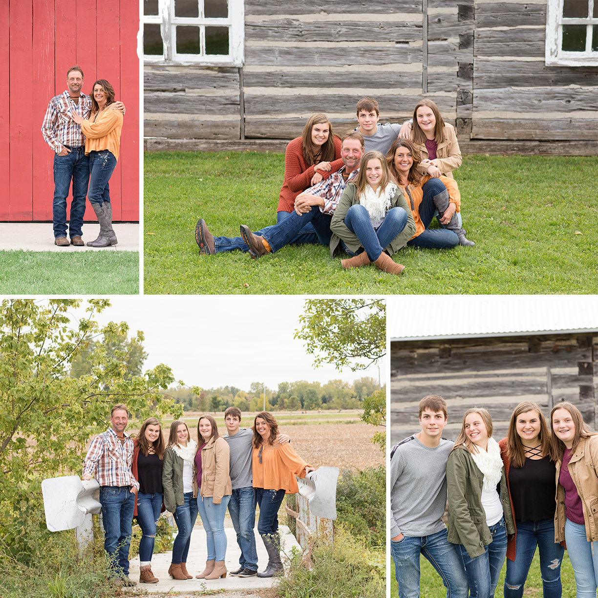 Chase Stone Barn Family Photos