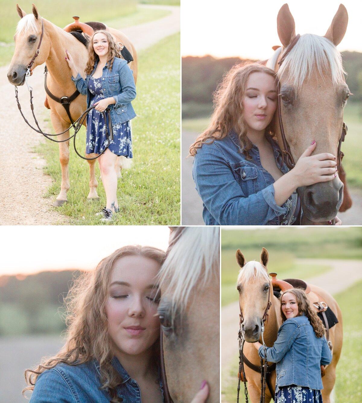 Wisconsin equine photographer