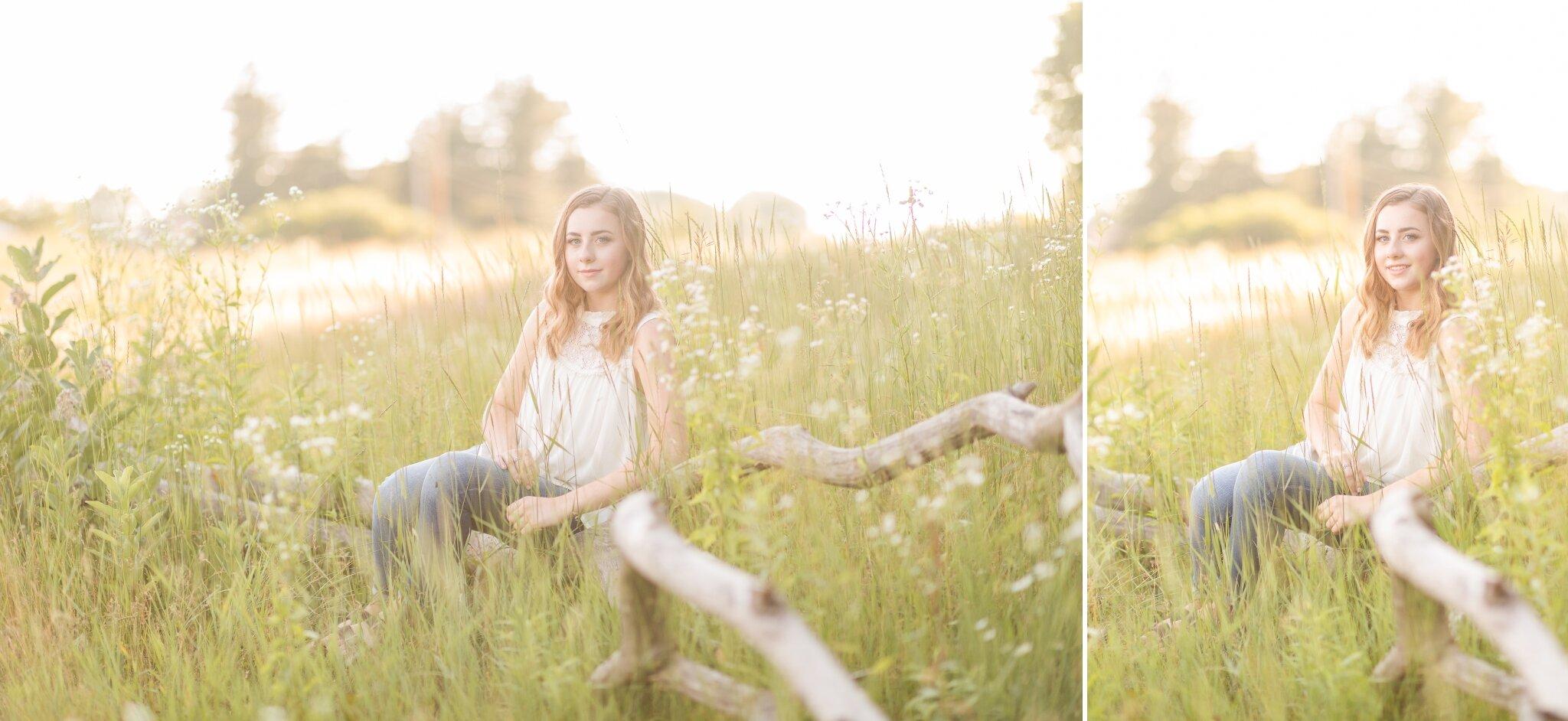 Appleton, WI Senior Girl Photos on Driftwood