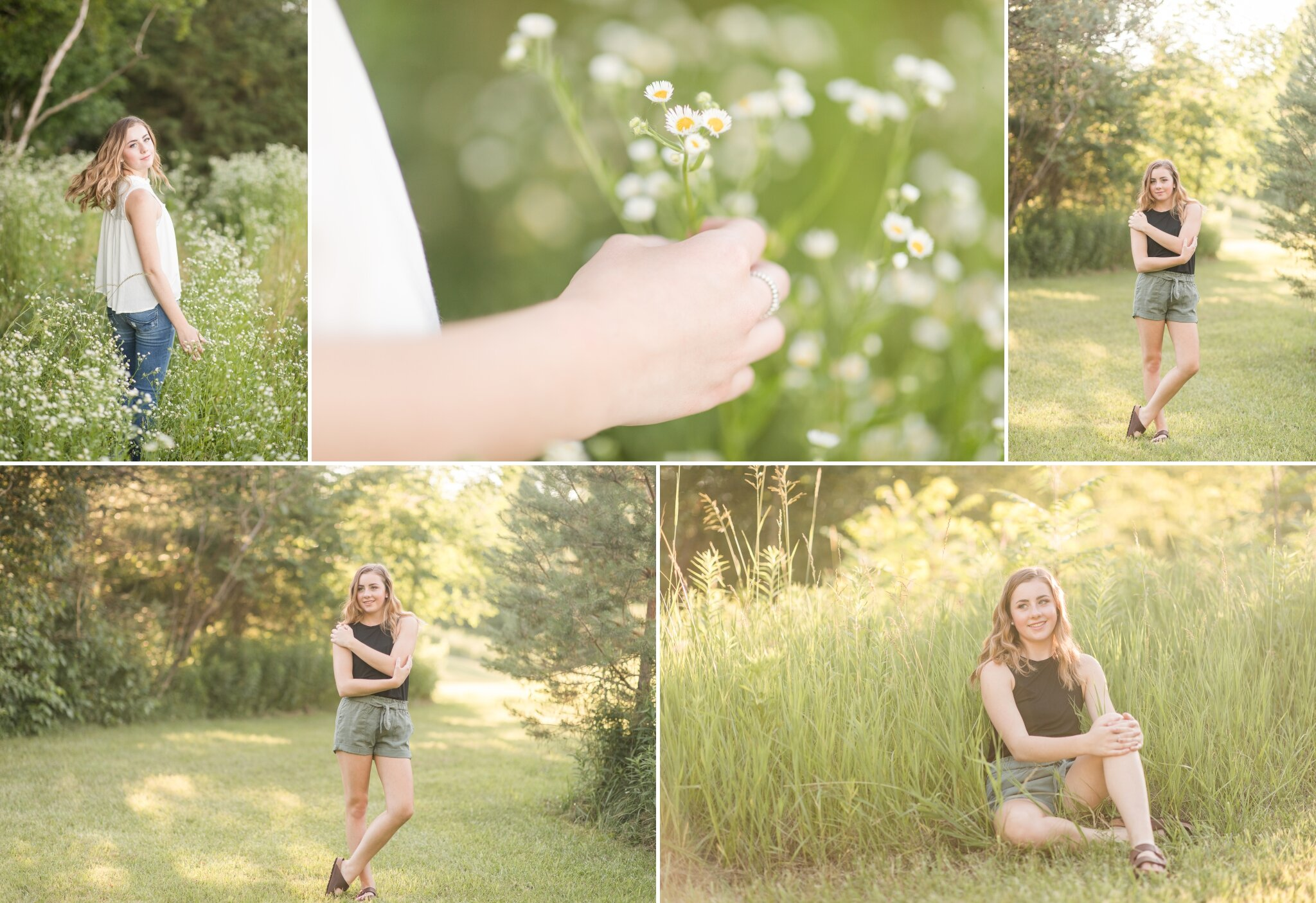 Cute Summer Outfits for Senior Photos Appleton WI