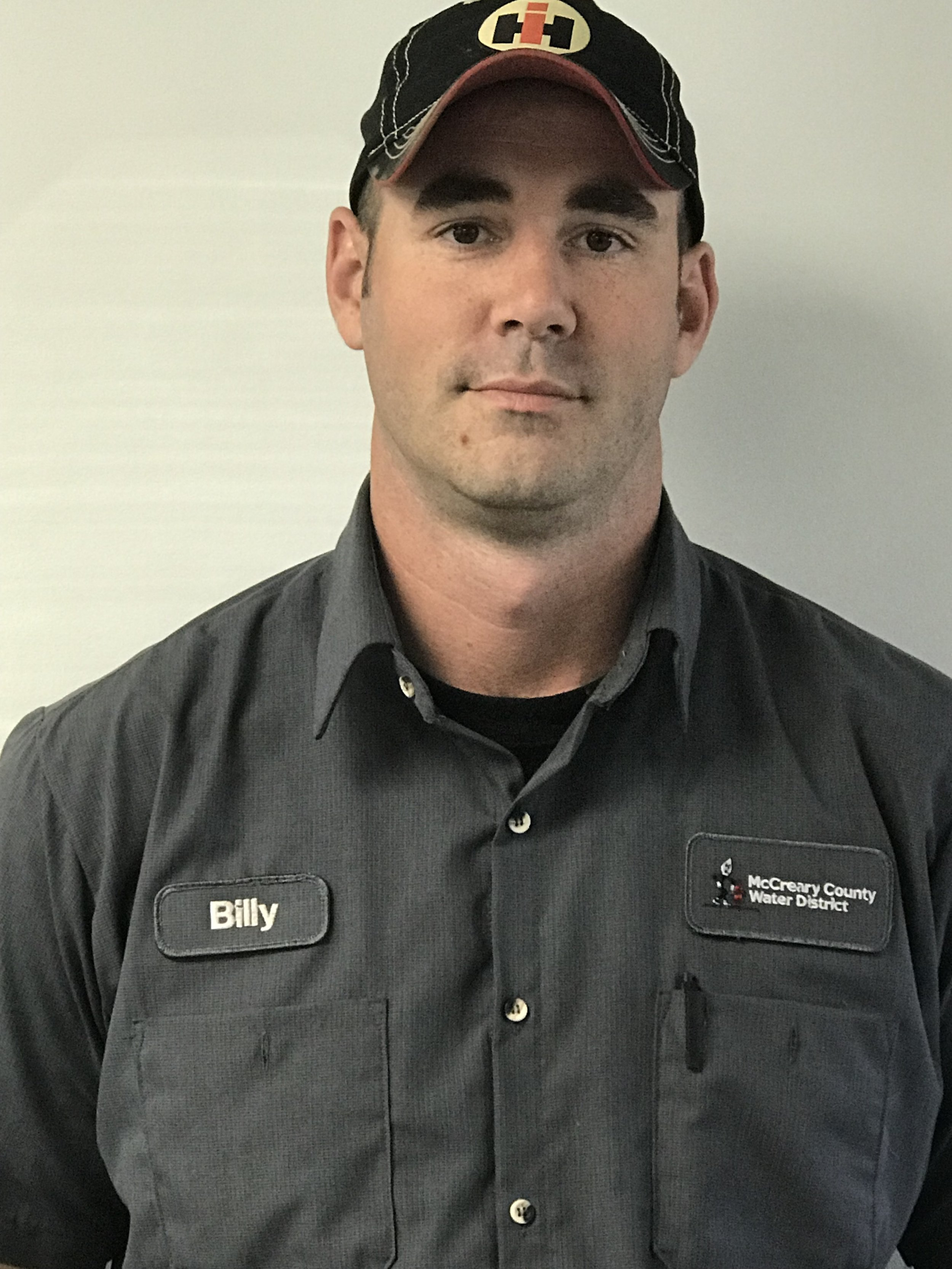 BILLY TRAMMELL  has worked at the water district since 2007. He holds Drinking Water Distribution Class III, Wastewater Treatment Class III, and Wastewater Collection Class II Certifications.