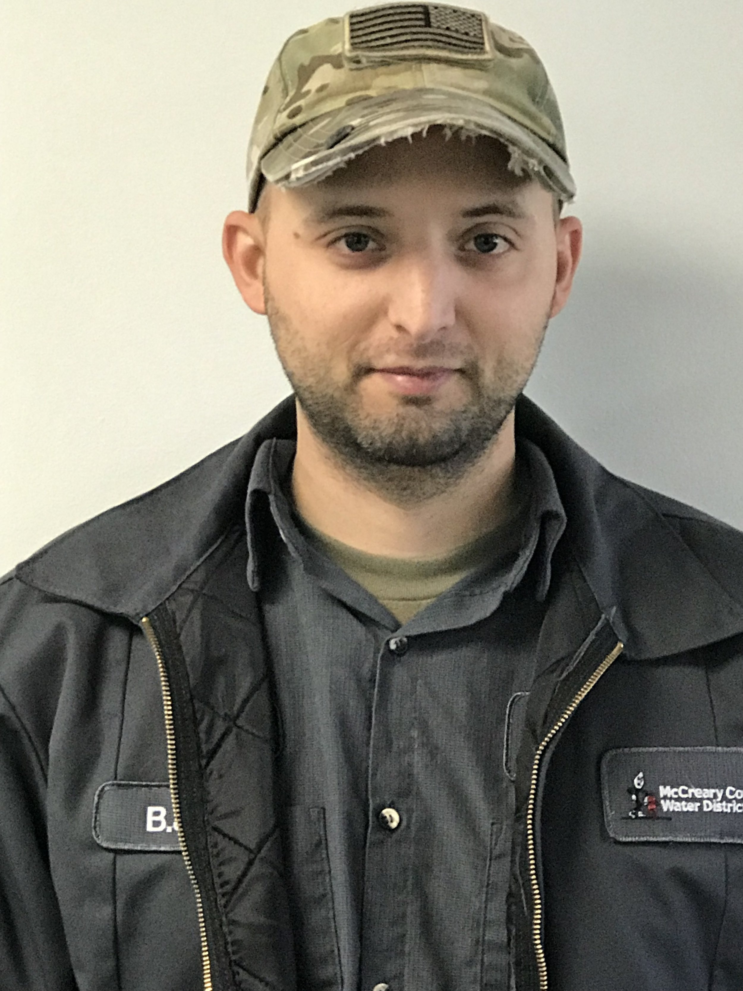 BJ KING  has worked at the water district since 2017. He holds a Drinking Water Treatment Class I Certification.