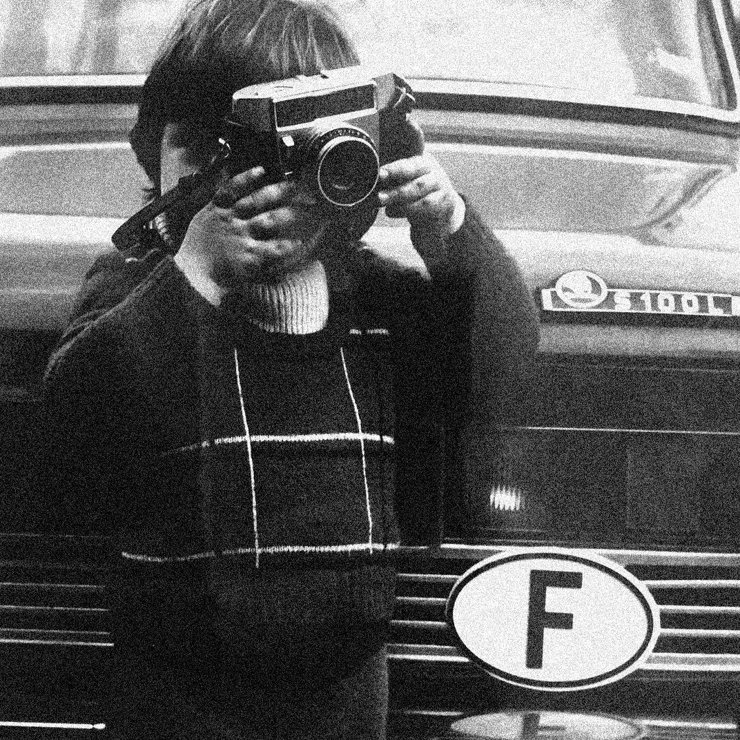 (Yours truly, ca. 1975. Foto: Knud Aage Pedersen)