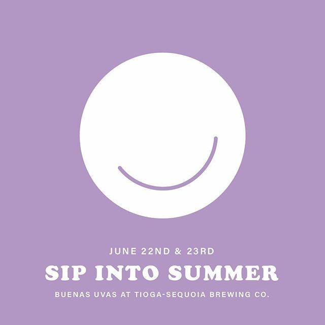 It's finally time to #sipintosummer 💦come to @tiogasequoia today & tomorrow for wine & beer tastings, a ton of awesome local vendors, food and music!  If you don't have tickets, no worries! You can buy them at Tioga. And there are 13 other wineries you can do tastings at this weekend, too! We'll see you there 🙃  #downtownfresno #winetasting #fresnowinejourney #cannedwine #justgoodwine #roséallday #buenasuvas
