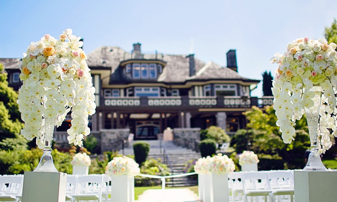 CECIL GREEN PARK HOUSE - LOCATION: VANCOUVERRECEPTION: 200 | DINING: 150