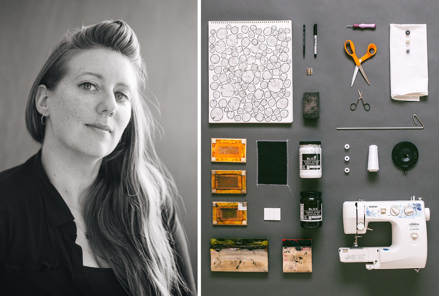 Kim Shirley, Founder + Artist of Corvidae