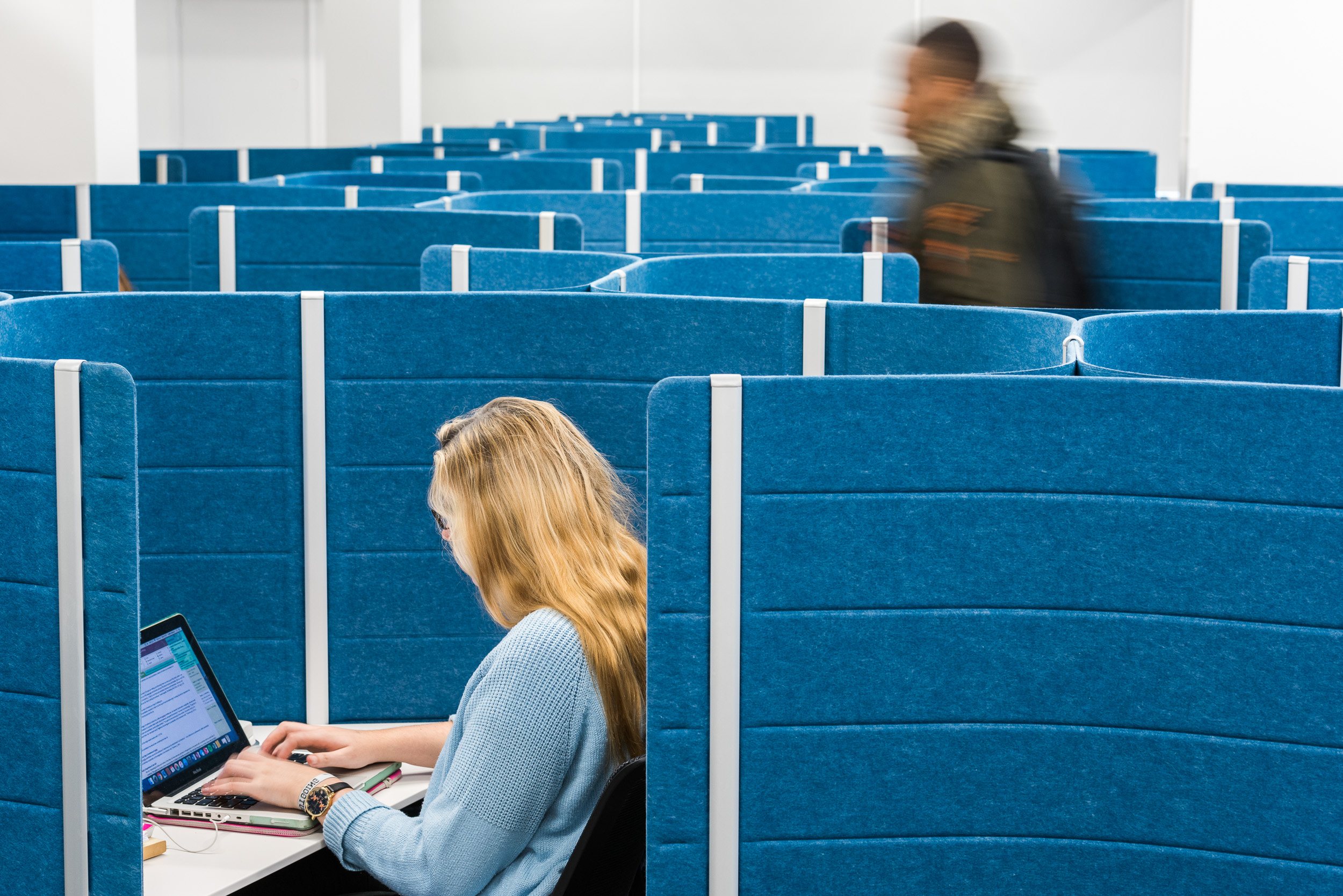 Library studying pods