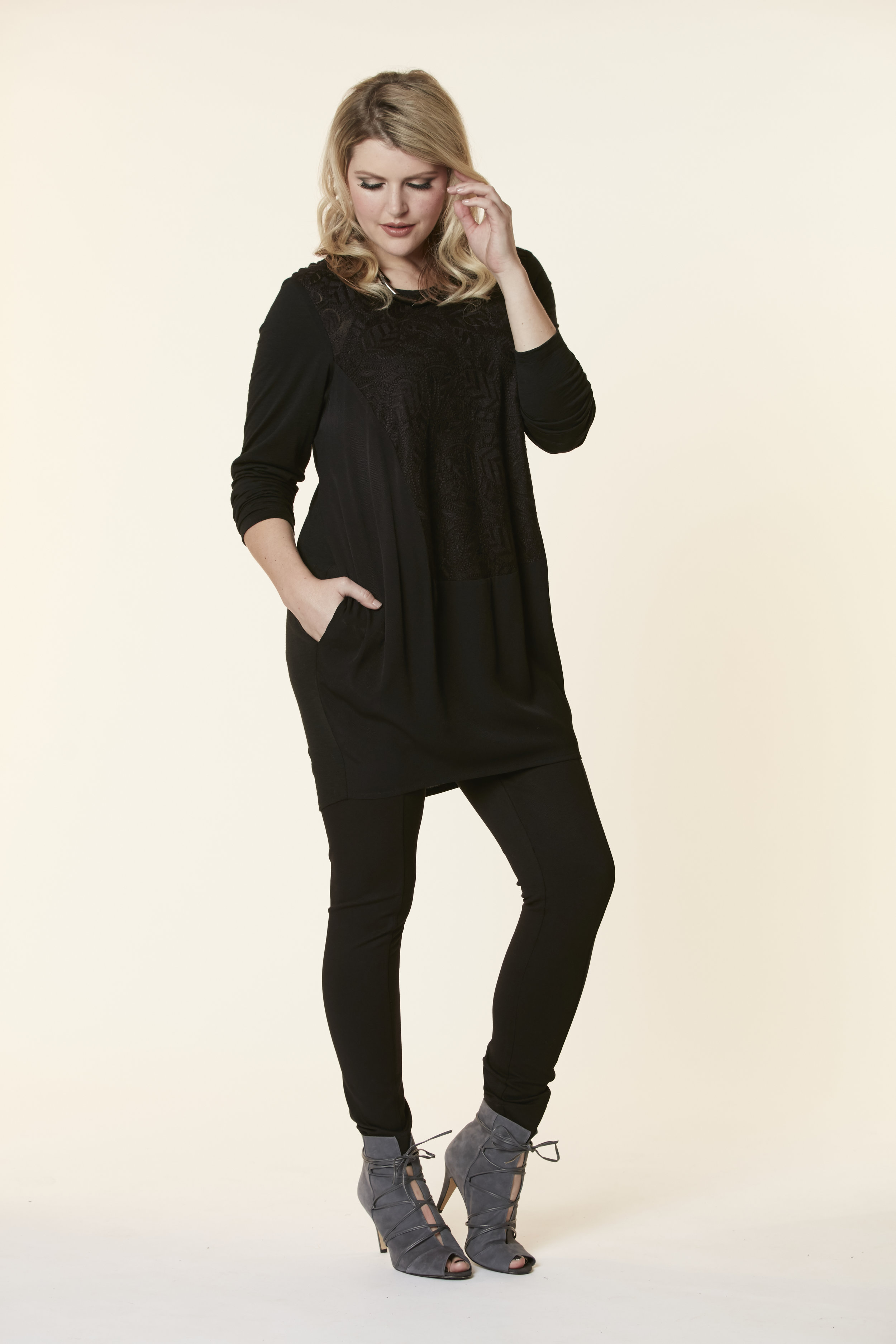 72895 Lancaster Tunic Dress, 72934 Skinny Panel Pant FRONT.jpg