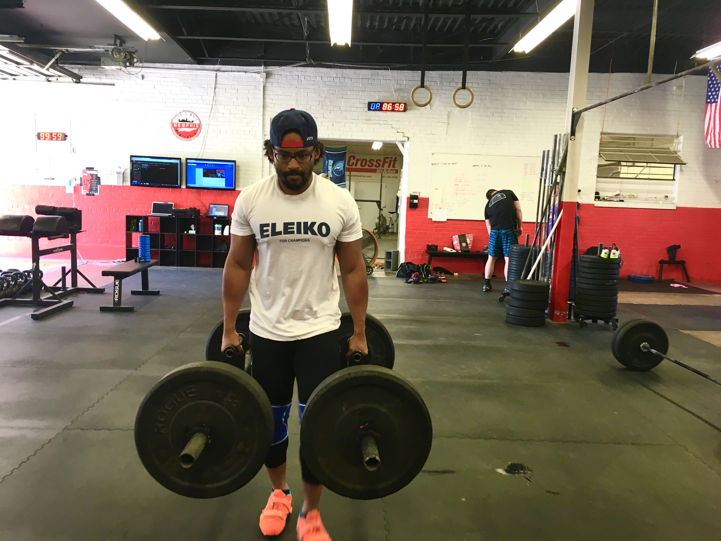 """Loaded carries with farmer handles, dumbells or kettlebells, prowler pushes or sled drags make for great """"cardio"""" that can also increase your strength."""