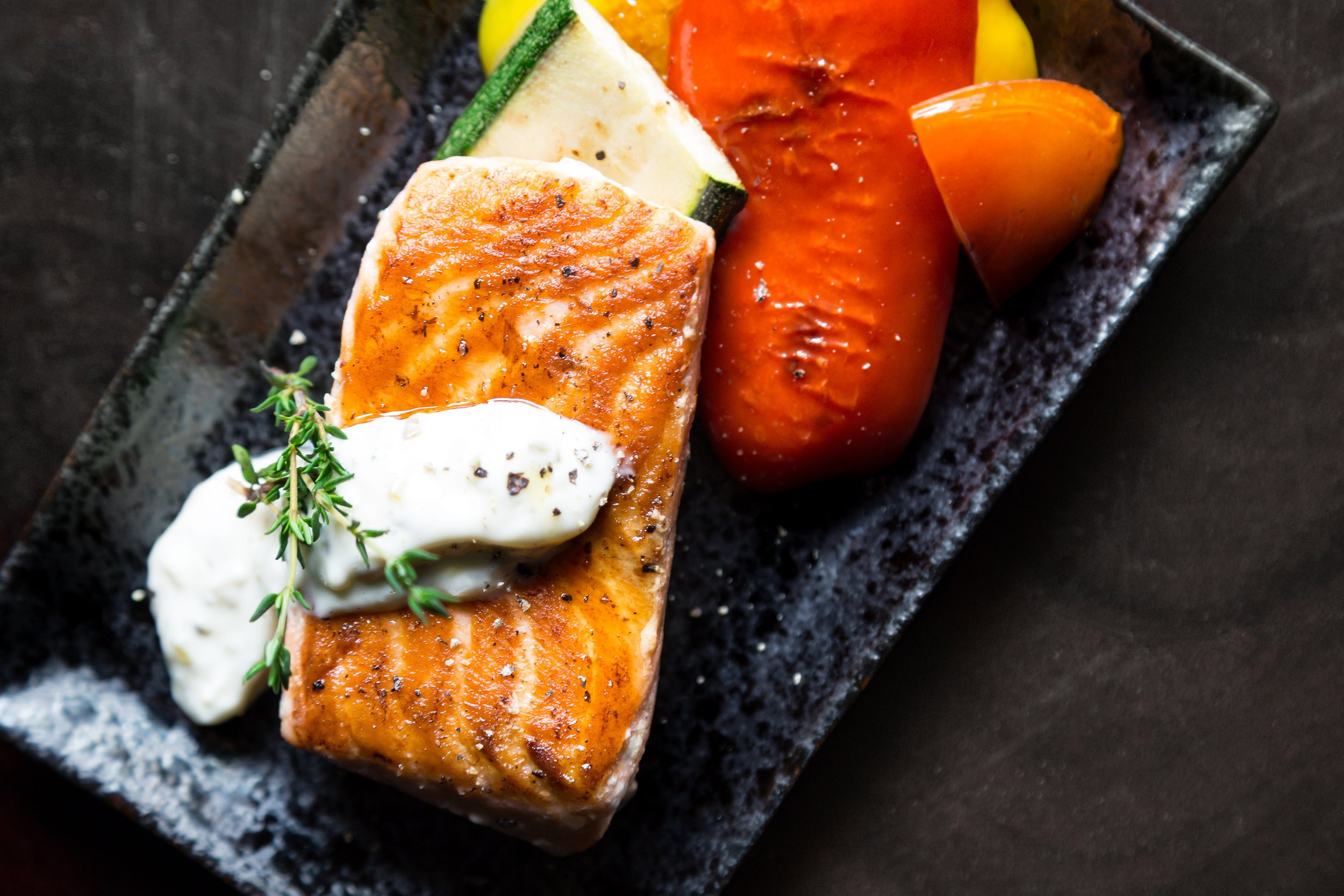 Wild-caught salmon is an excellent source of Omega-3 fatty acids