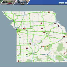 MoDOT Road Conditions -