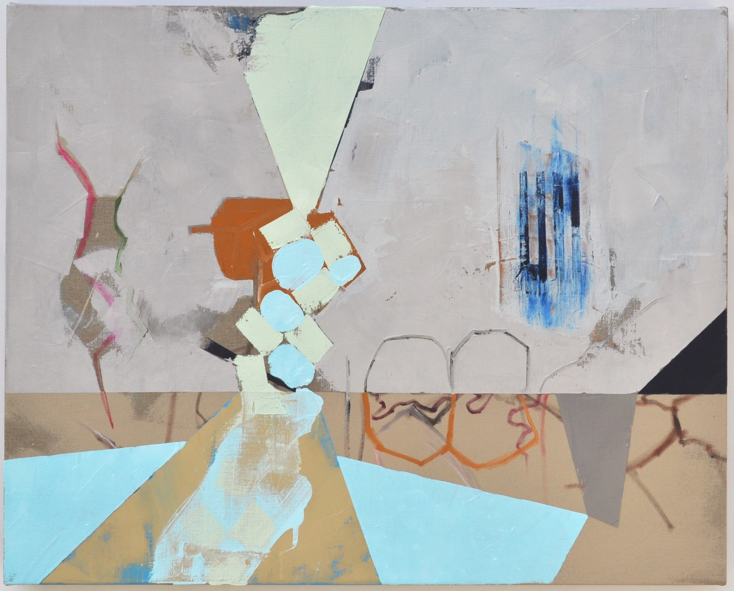 Ruth Trotter, Machine, acrylic and oil on linen, 24x30 in., 2016.jpeg