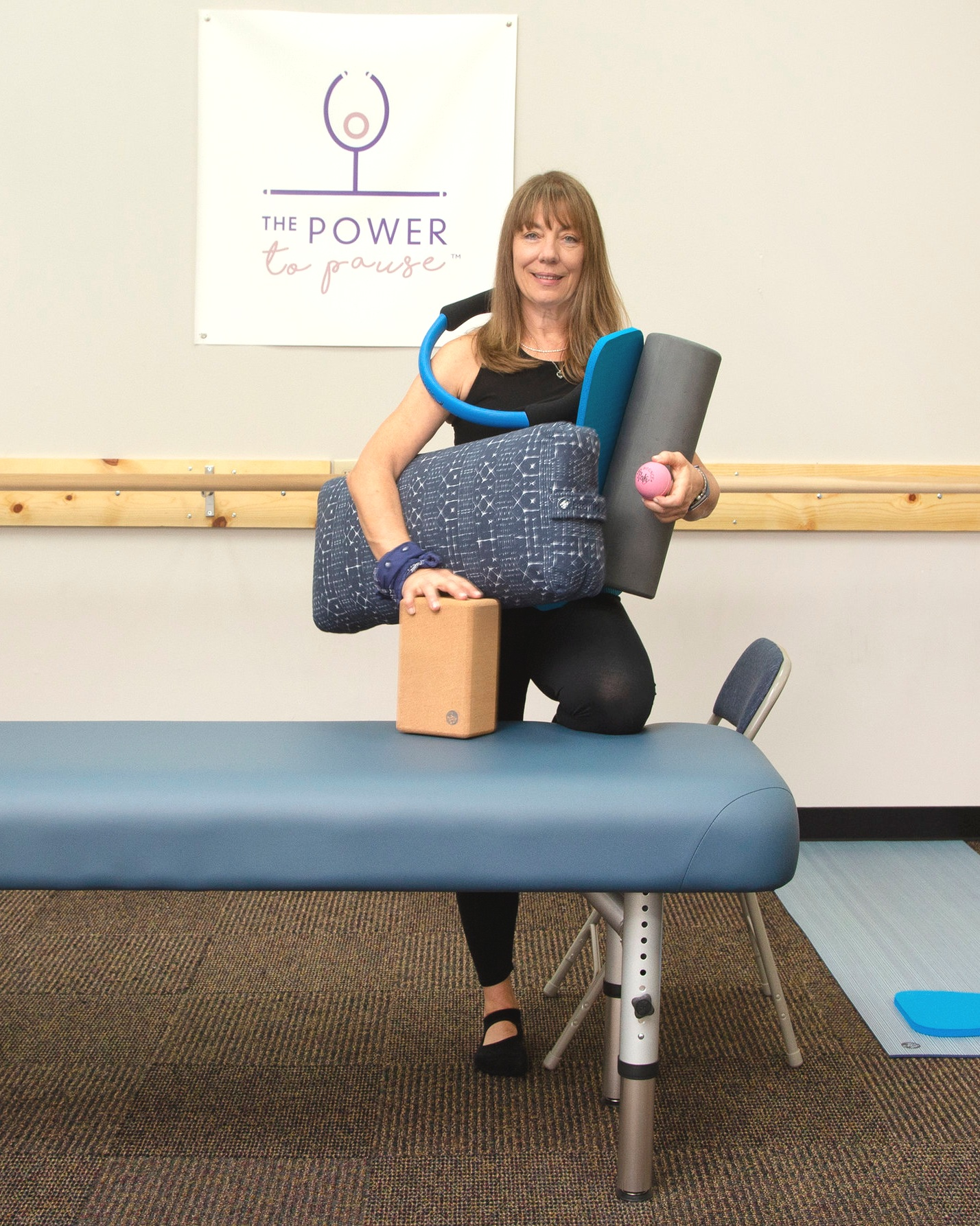 assisted stretching focuses on stretching without straining by using tools to help elongate muscles.