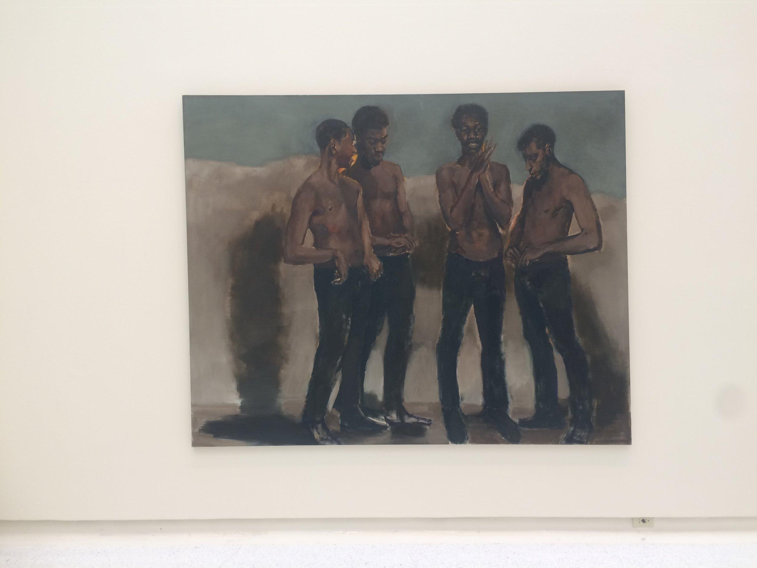 Painting by Lynette Yiadom–Boakye